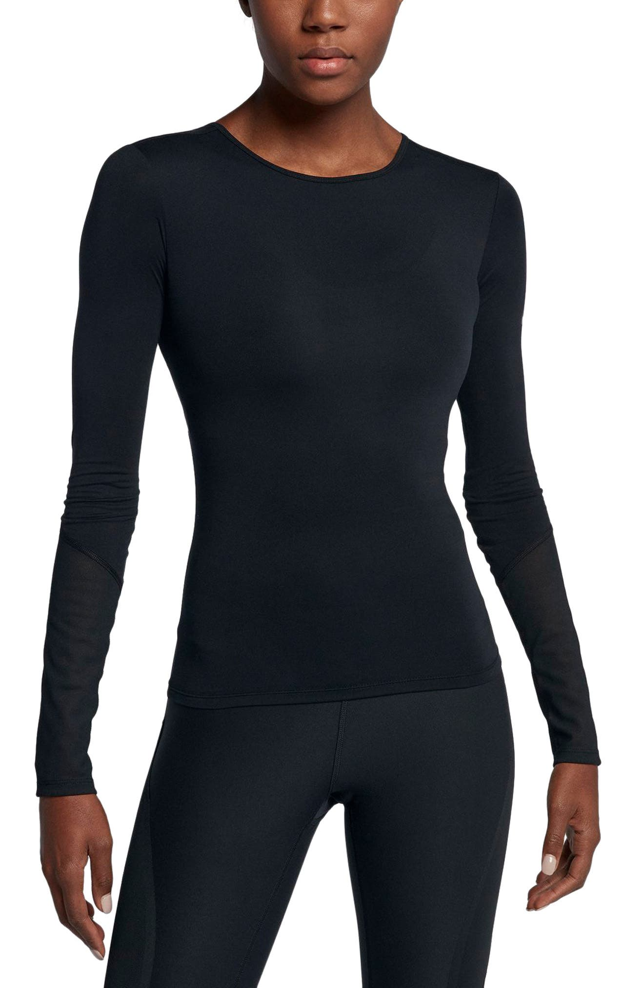Dry Wrap Training Top,                             Main thumbnail 1, color,                             010