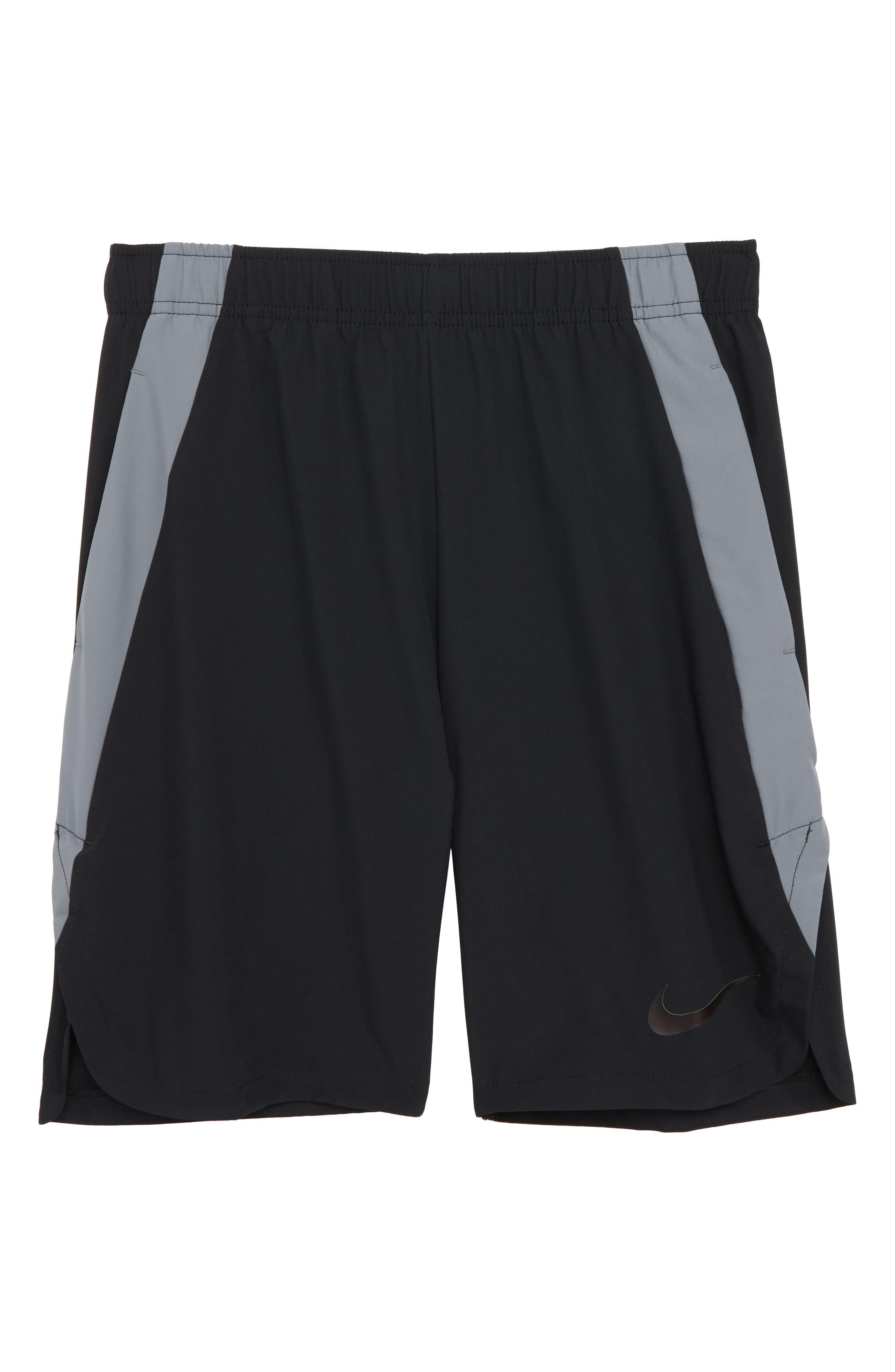 Dry Training Shorts,                             Main thumbnail 1, color,                             BLACK/ COOL GREY