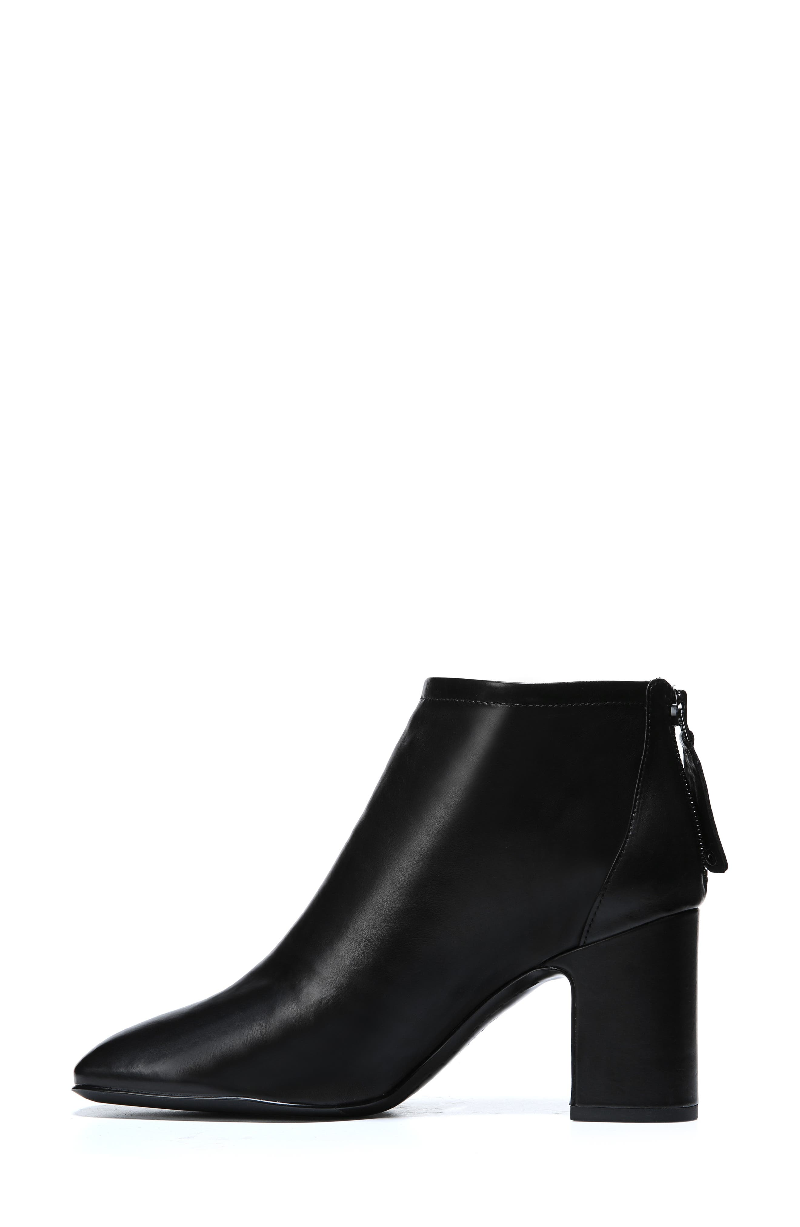 Jacoby Bootie,                             Alternate thumbnail 9, color,                             BLACK STRETCH LEATHER