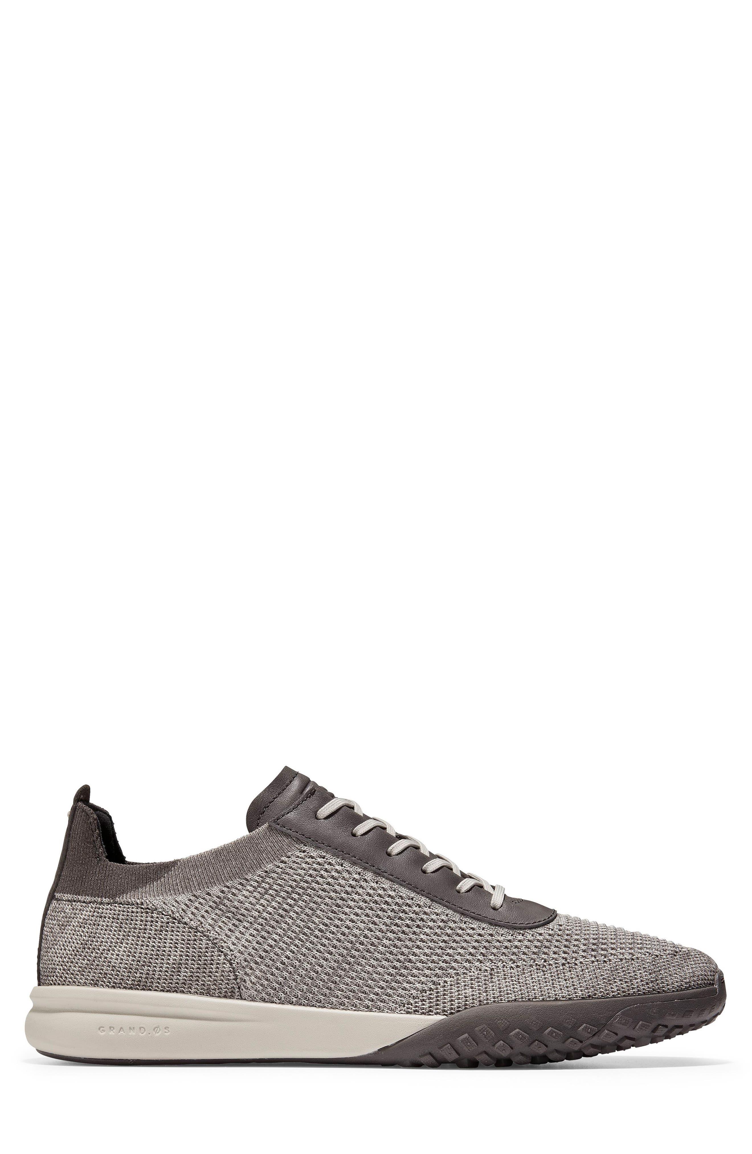 GrandPro Trail Low Stitchlite Sneaker,                             Alternate thumbnail 3, color,                             BLACK/ VAPOR GREY KNIT