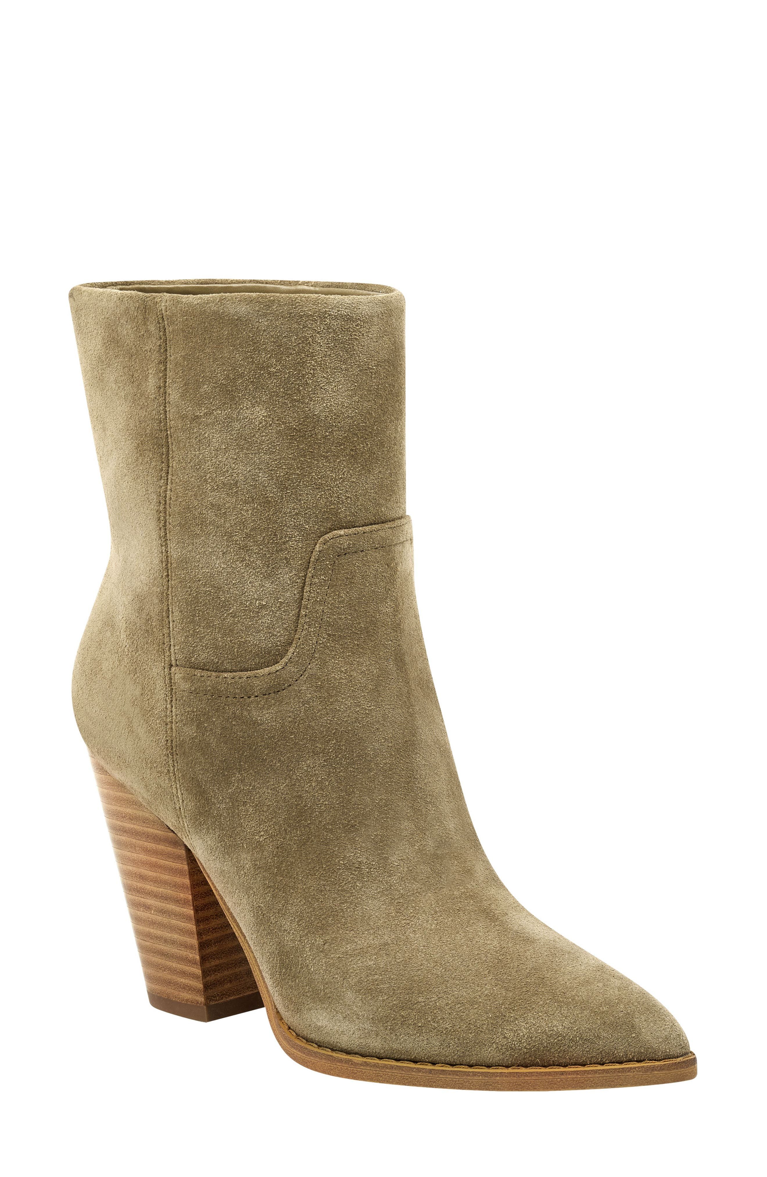Devin Pointy Toe Bootie, Main, color, 261