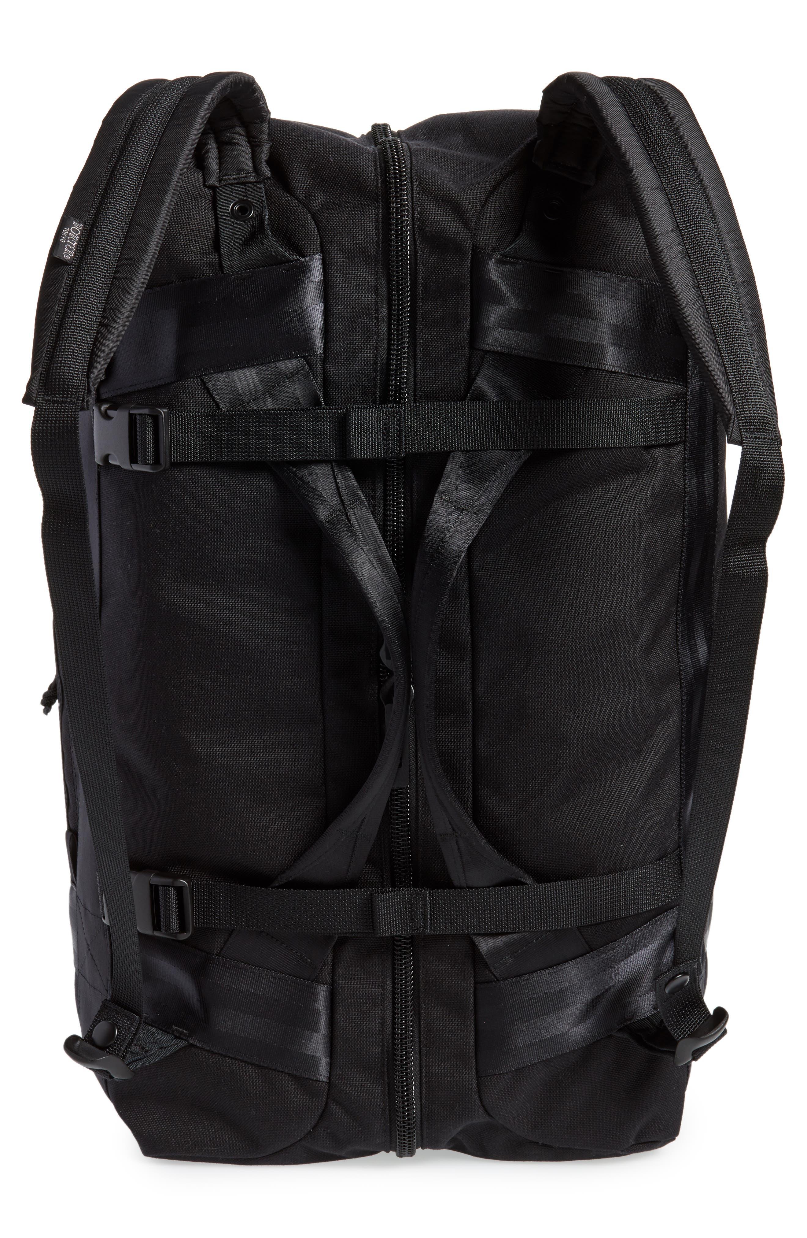 Porter-Yoshida & Co. Boothpack Convertible Duffel Bag,                             Alternate thumbnail 3, color,                             BLACK