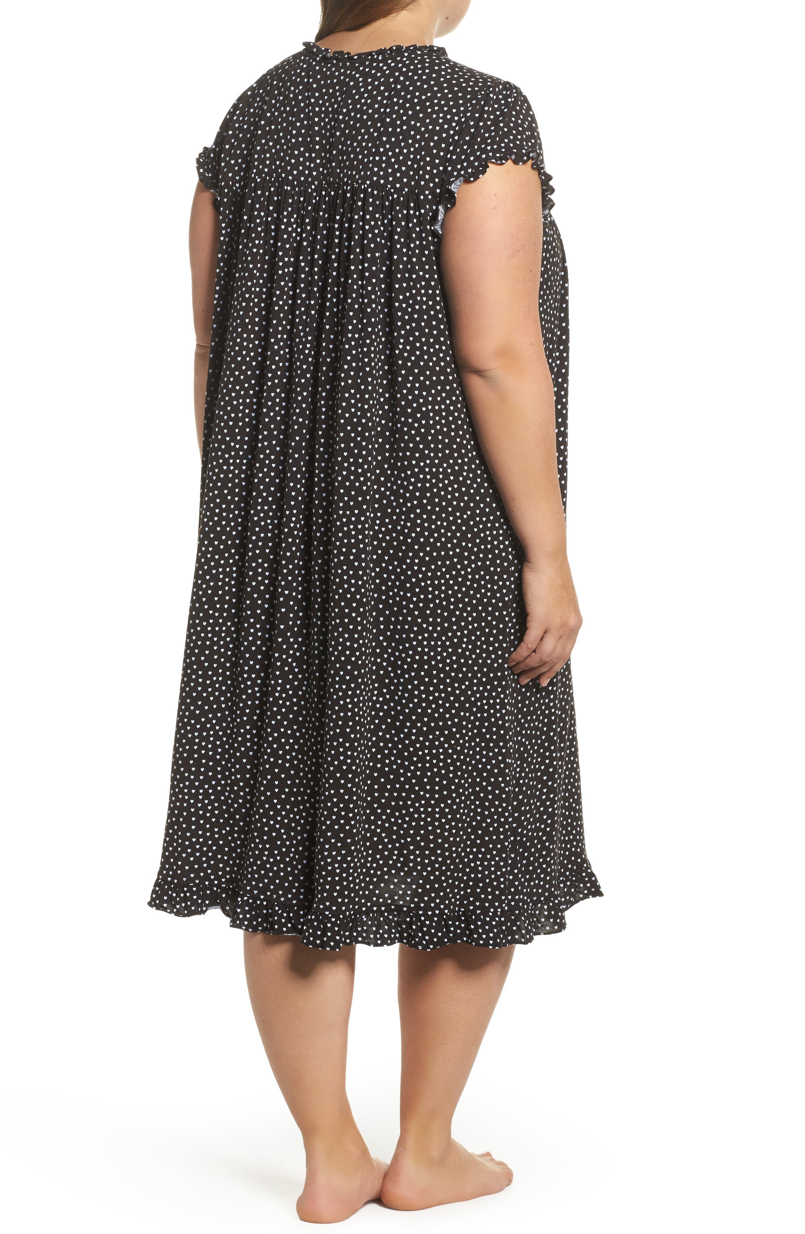 Modal Jersey Nightgown,                             Alternate thumbnail 3, color,