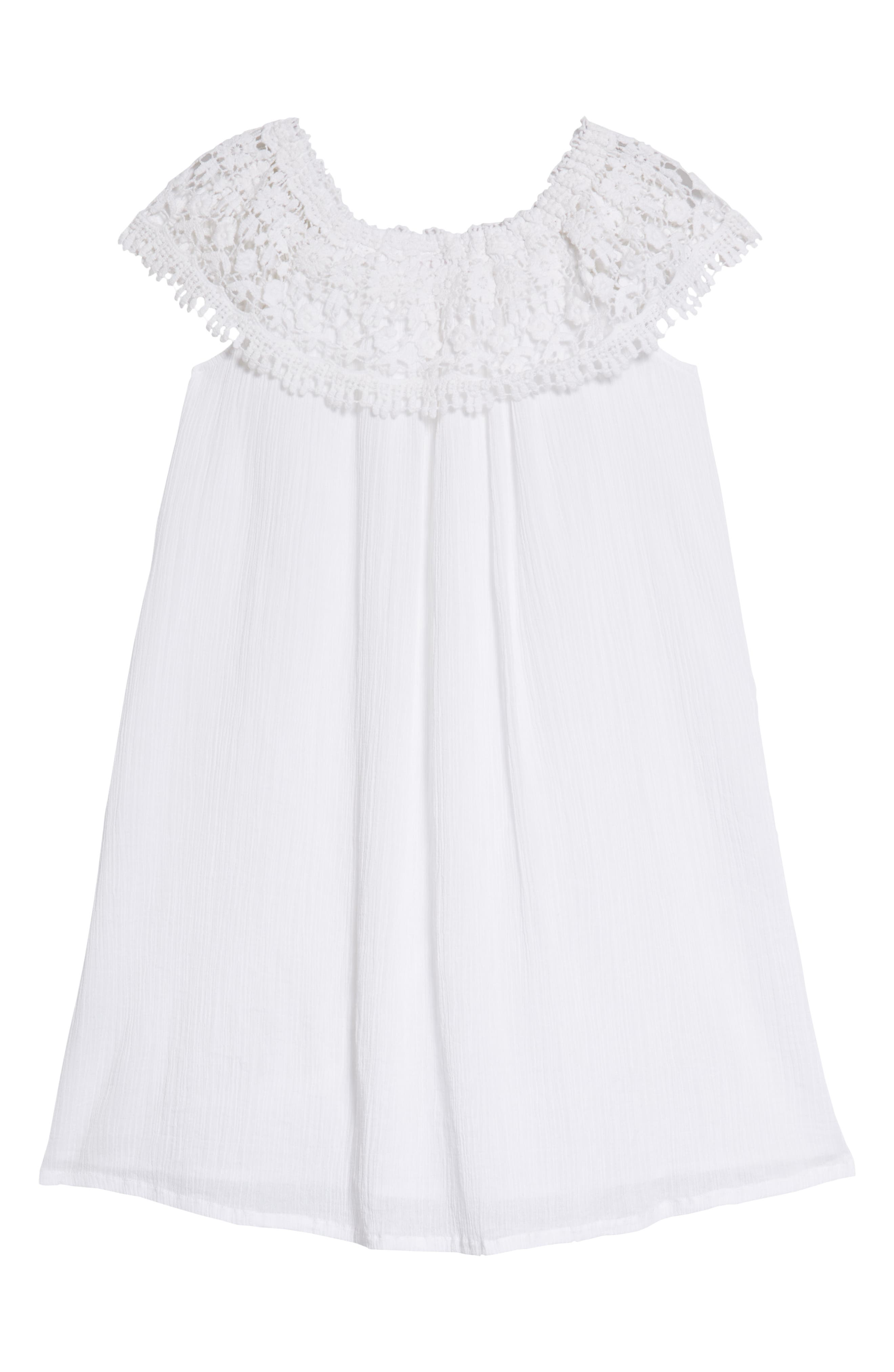 Lace Swing Dress,                             Alternate thumbnail 2, color,