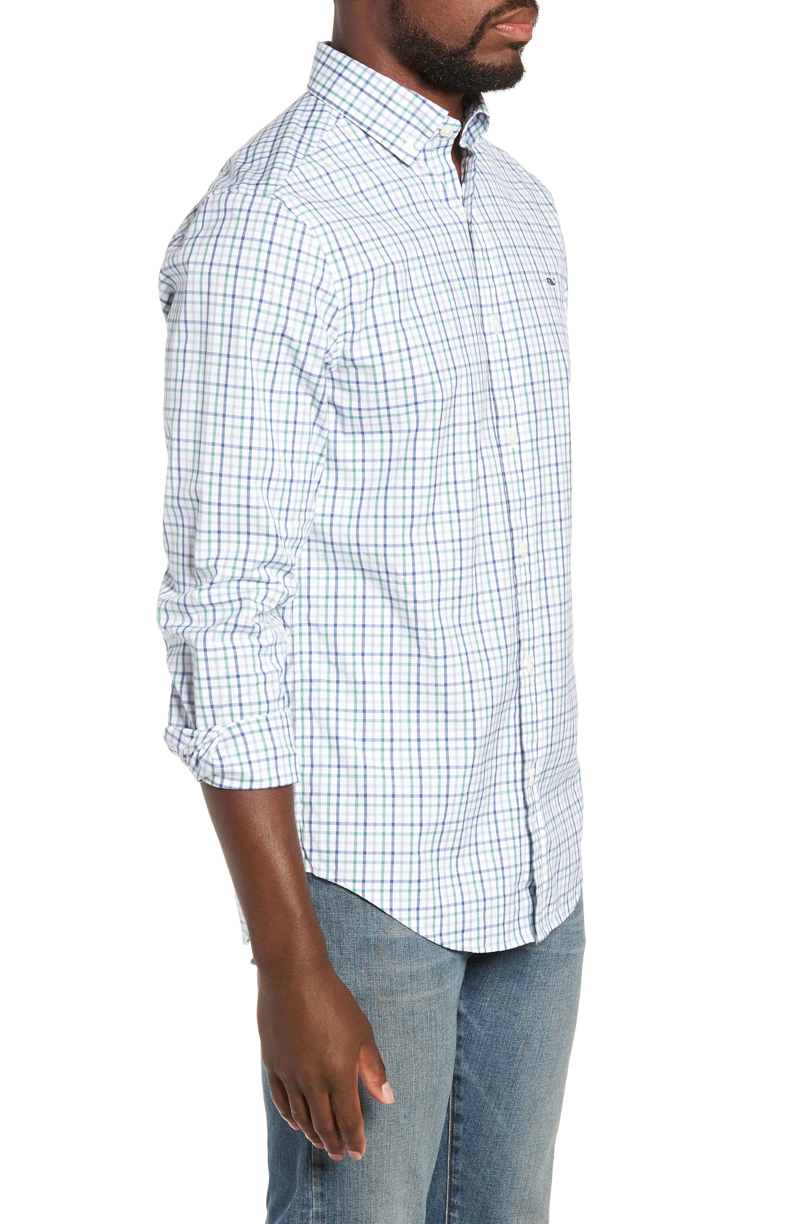 Classic Fit Sport Shirt,                             Alternate thumbnail 4, color,                             324