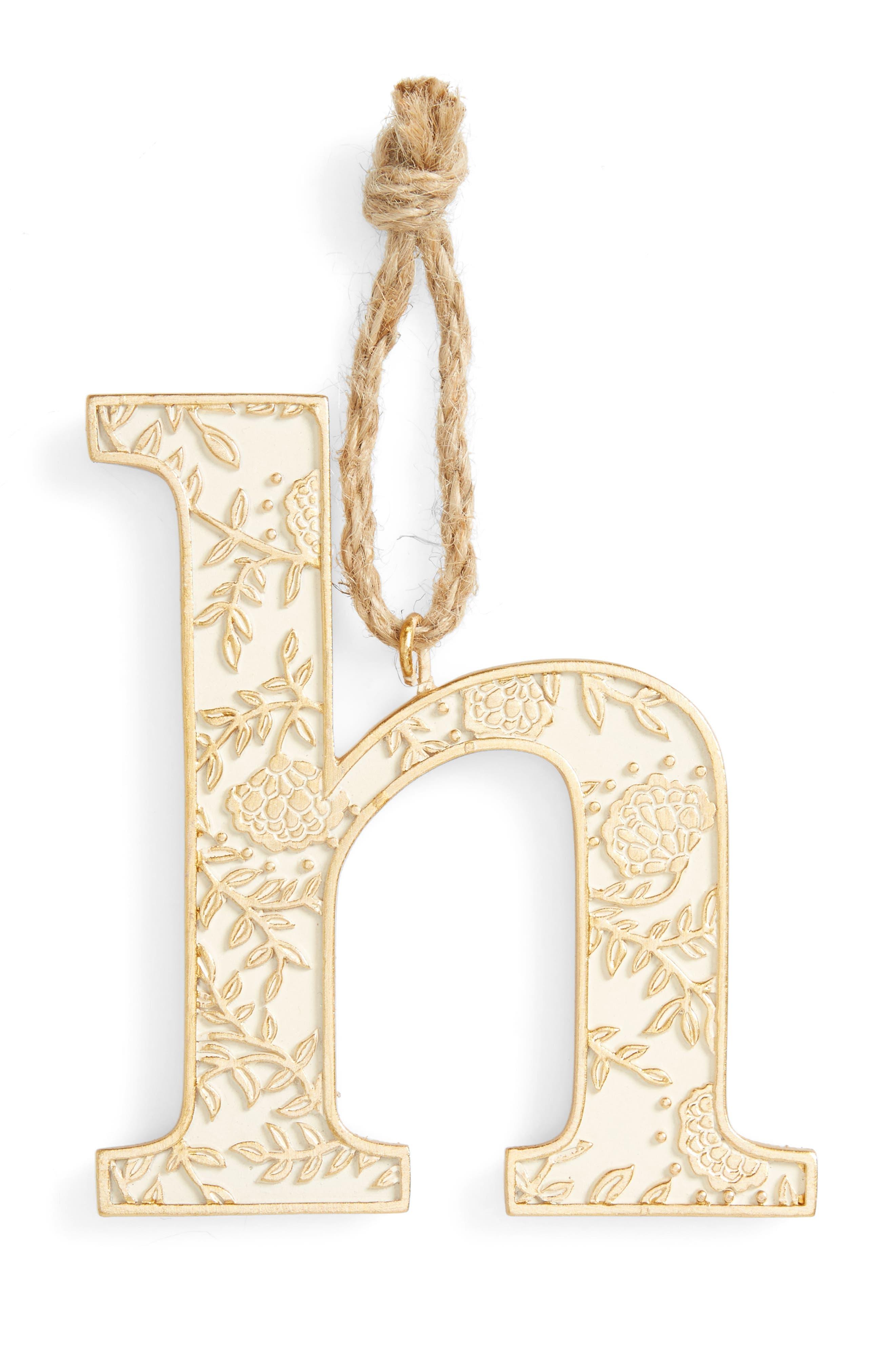 Letter Ornament,                             Main thumbnail 8, color,
