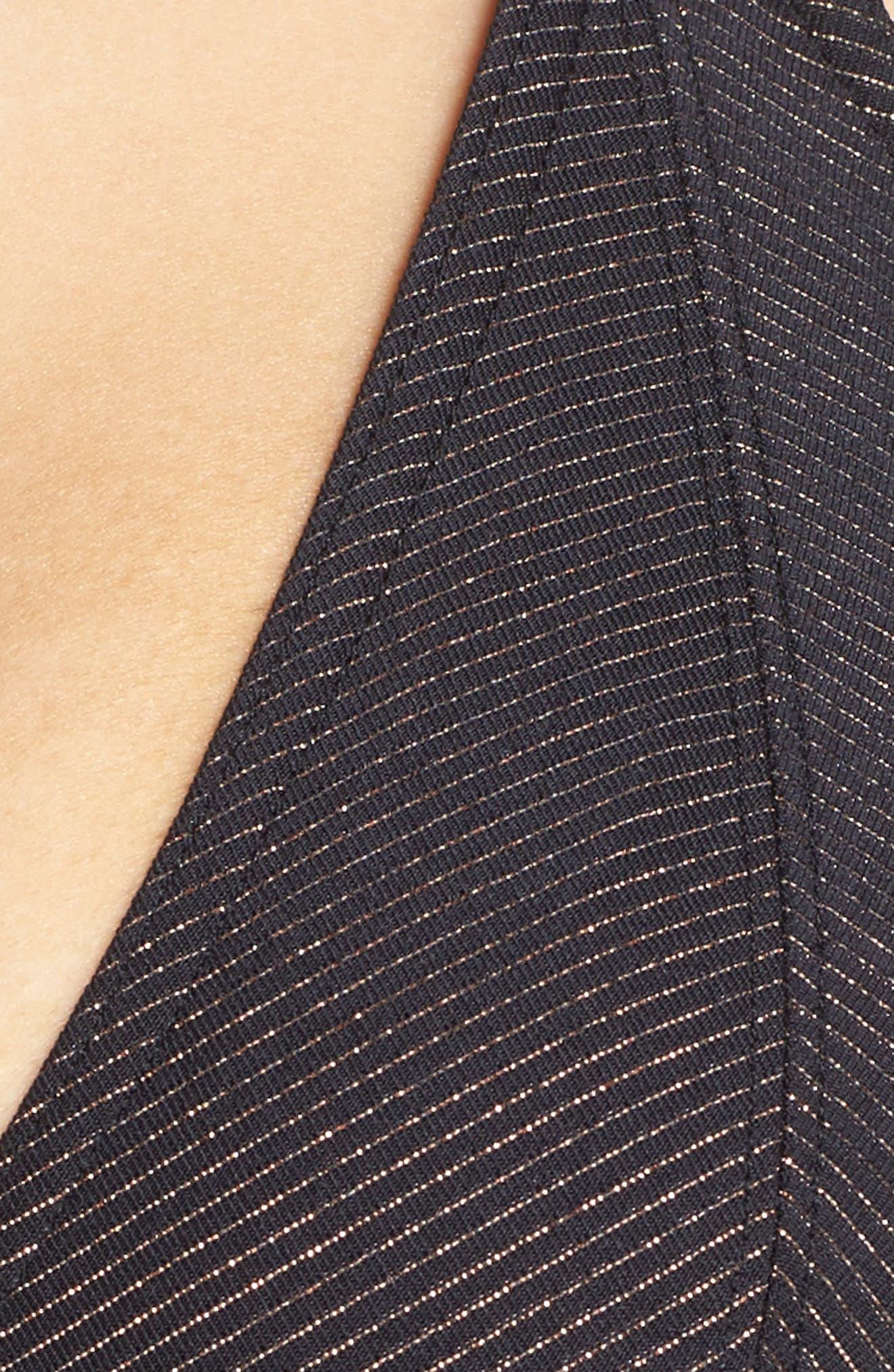 FREYA,                             'Glam Rock' Underwire Halter Bikini Top,                             Alternate thumbnail 5, color,                             001