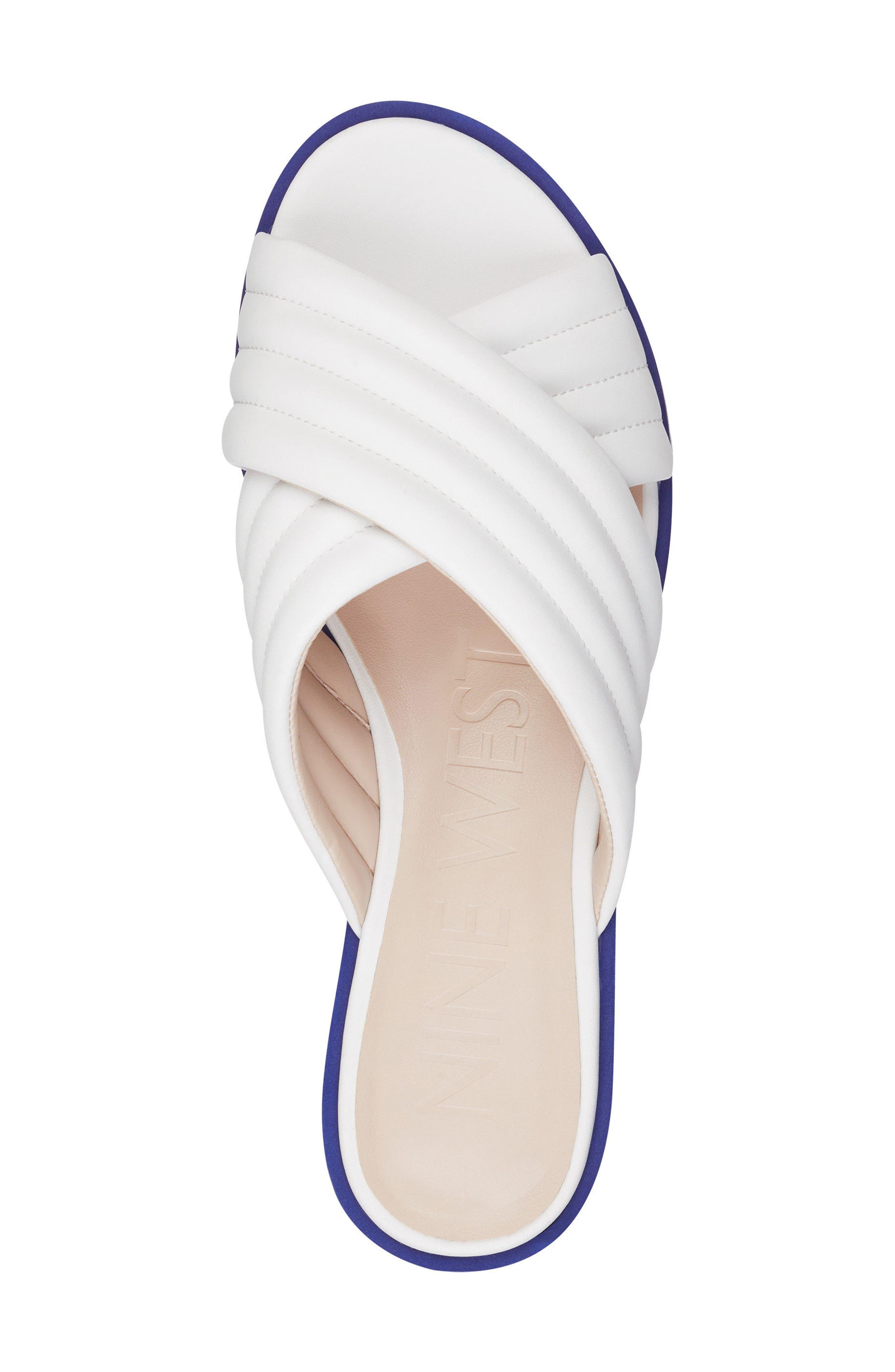 Zonita Platform Slide Sandal,                             Alternate thumbnail 15, color,