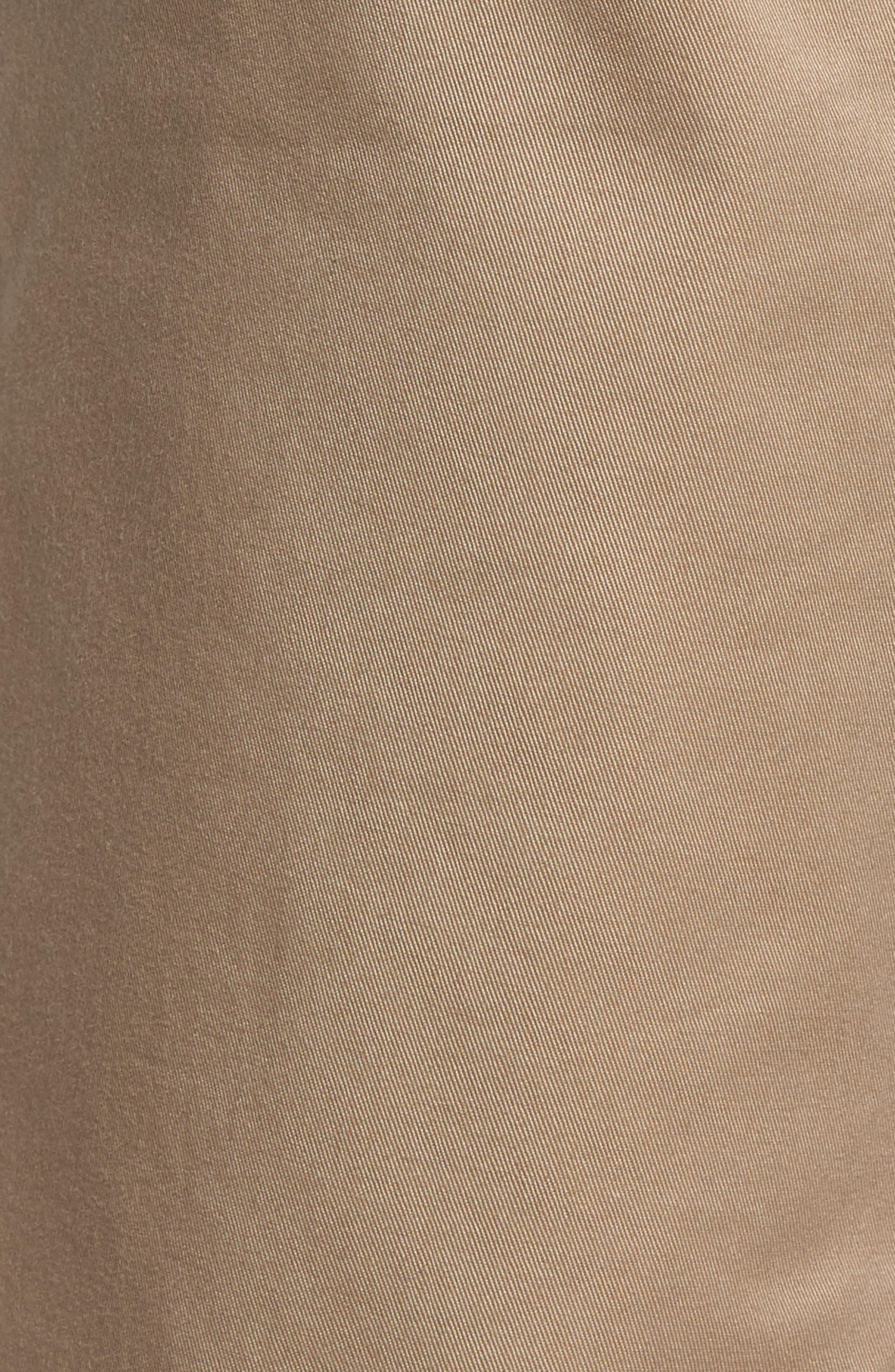 Modern Chino Shorts,                             Alternate thumbnail 5, color,                             KHAKI