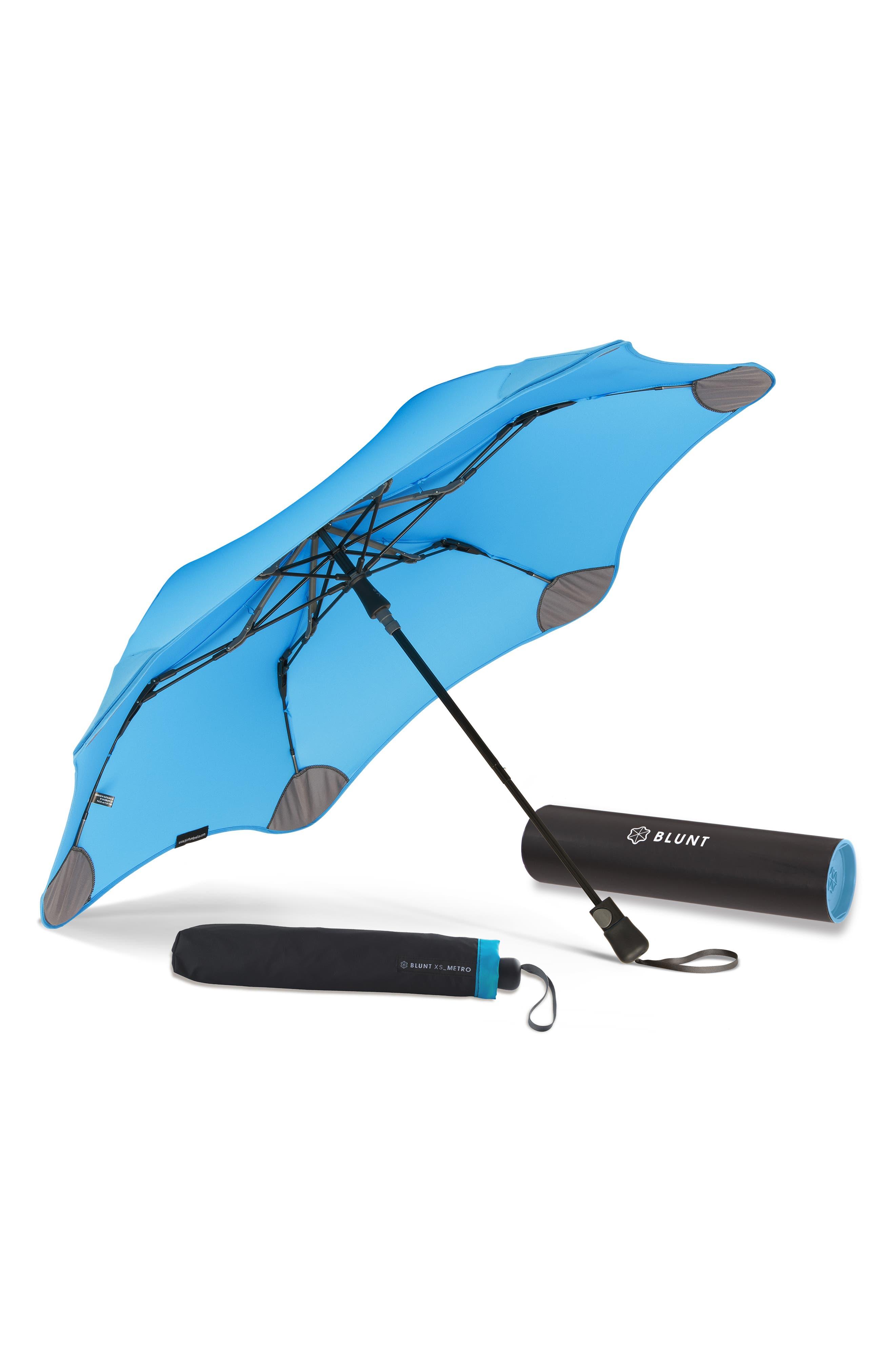 Metro Umbrella,                             Alternate thumbnail 5, color,                             AQUA BLUE