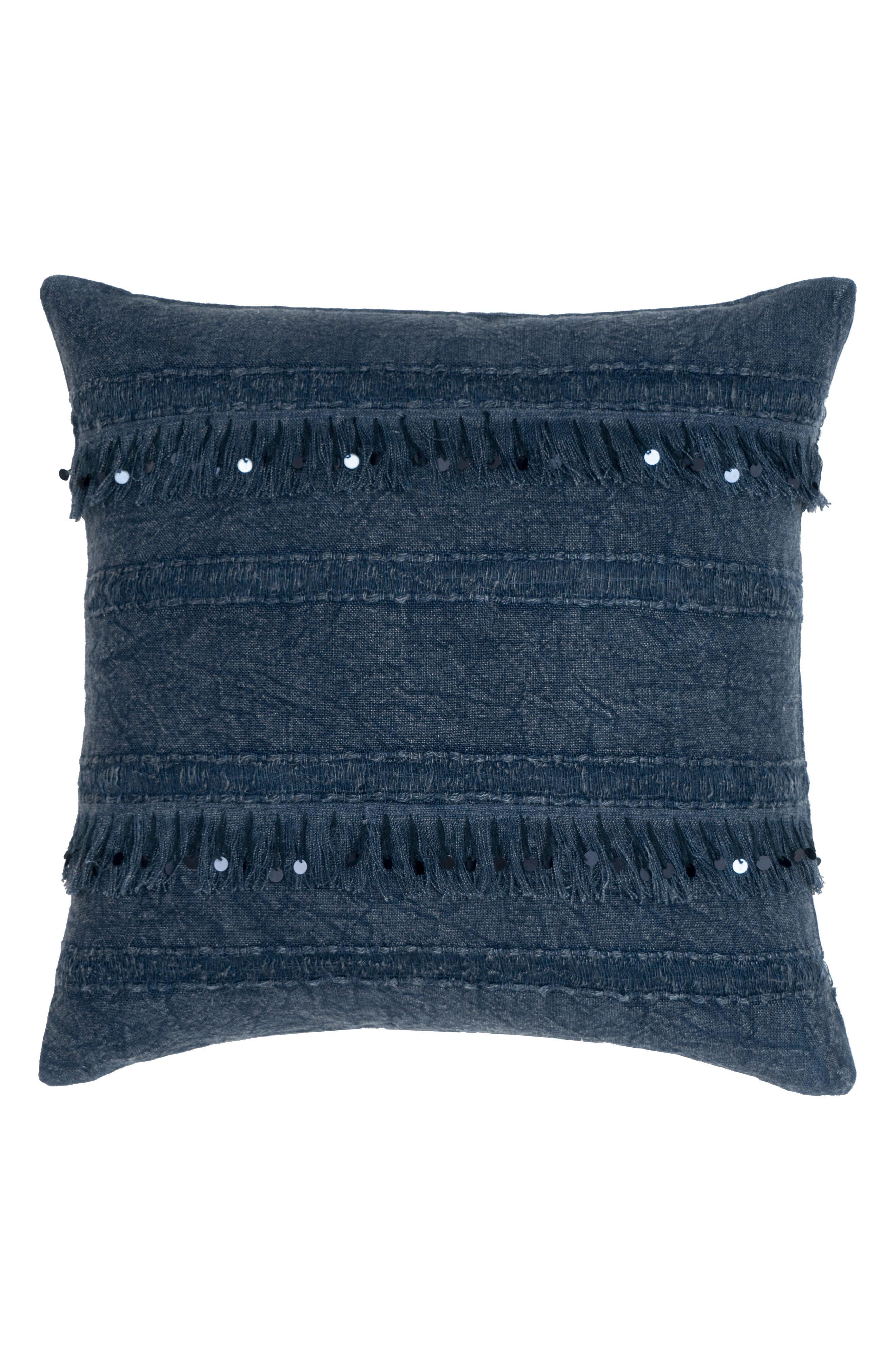 Dirade Accent Pillow,                         Main,                         color, INDIGO