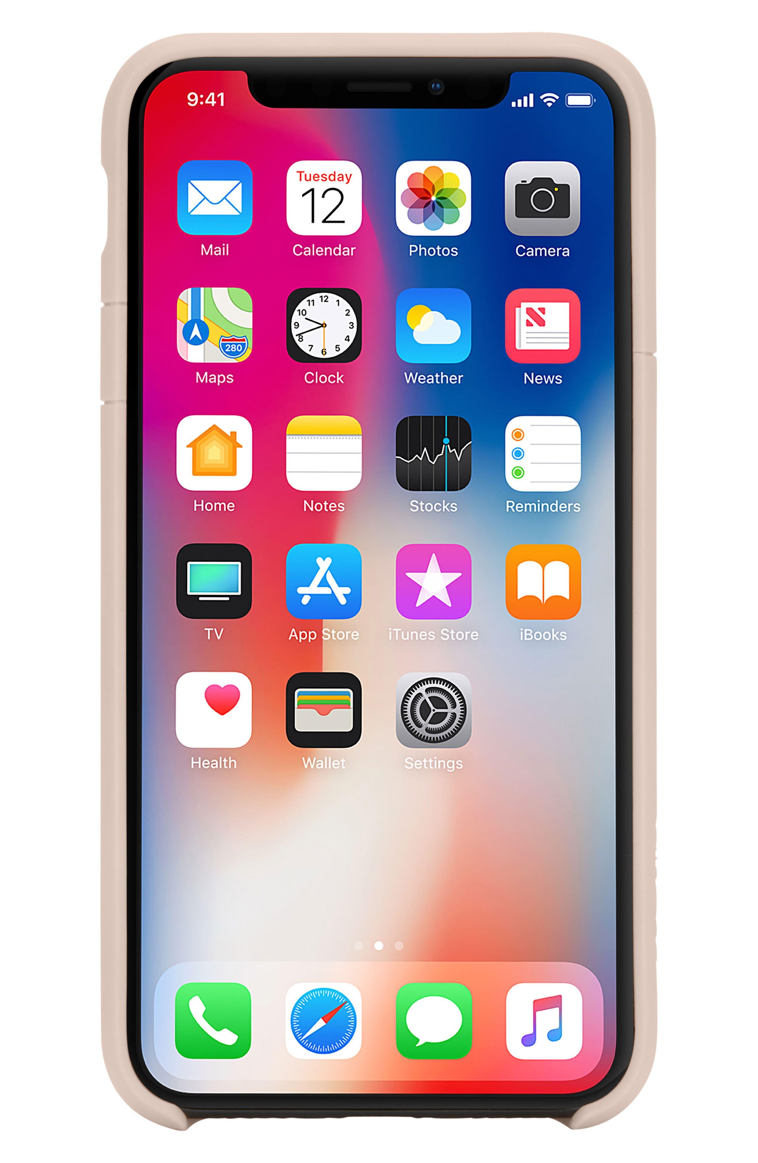 Lite iPhone iPhone X & Xs Case,                             Main thumbnail 6, color,