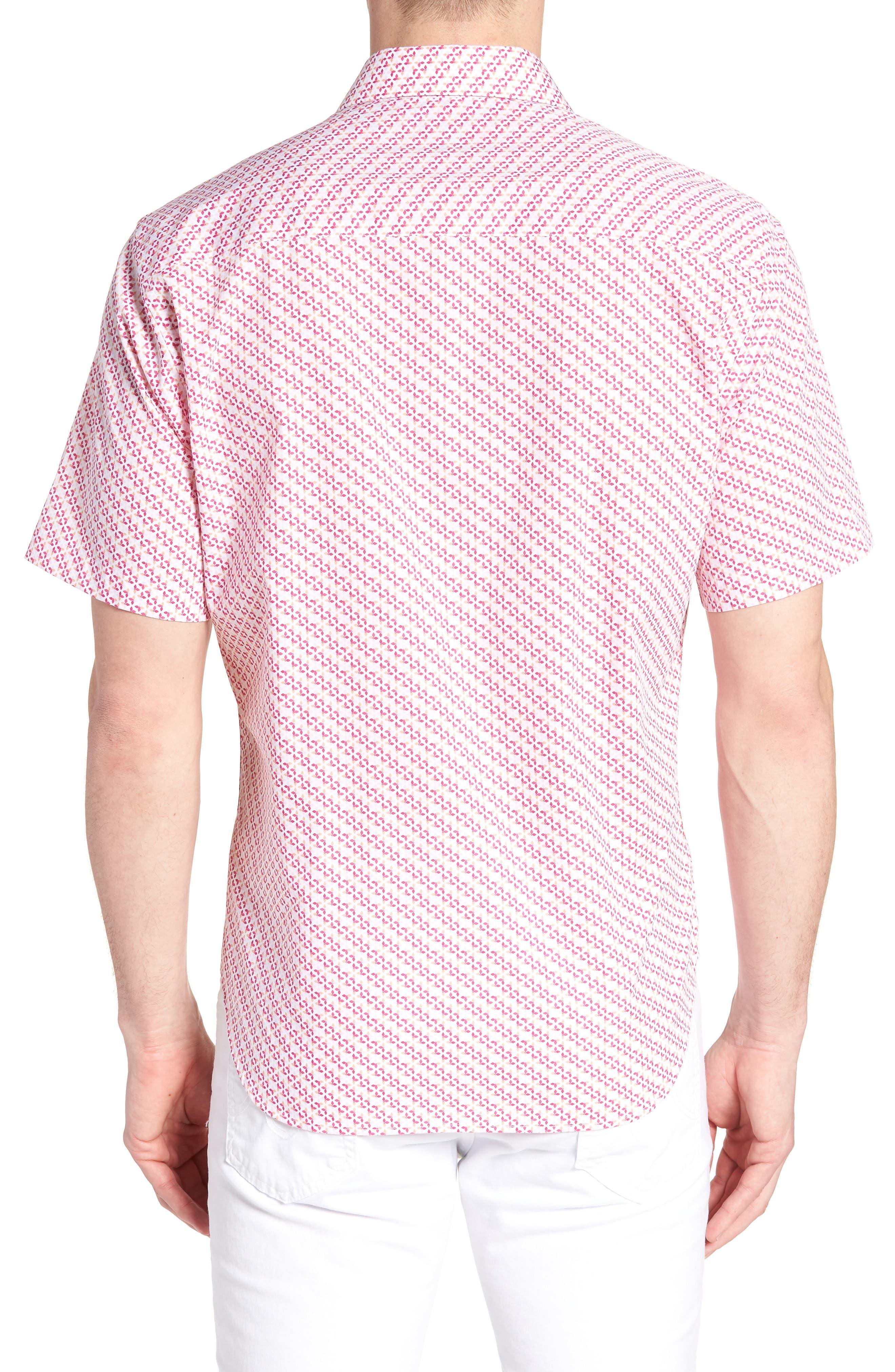 Albert Regular Fit Butterfly Sport Shirt,                             Alternate thumbnail 2, color,