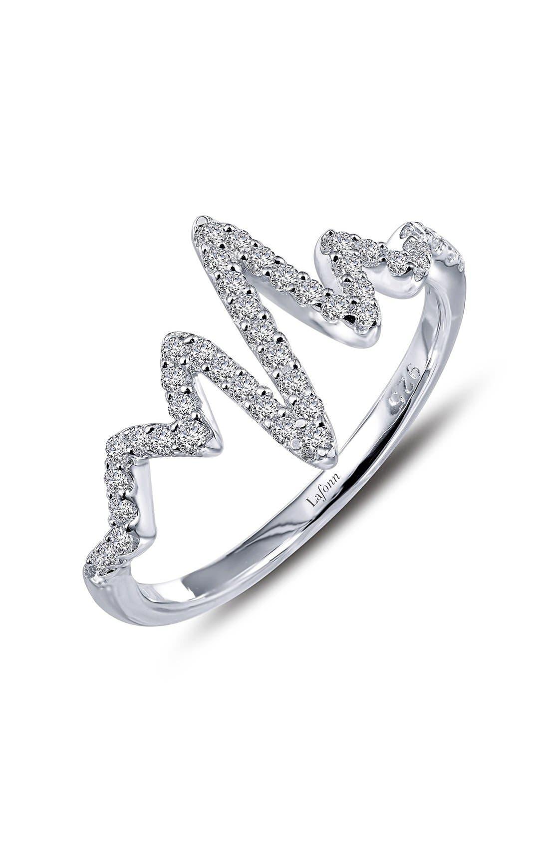 'Lassaire' Pulse Ring,                         Main,                         color, SILVER