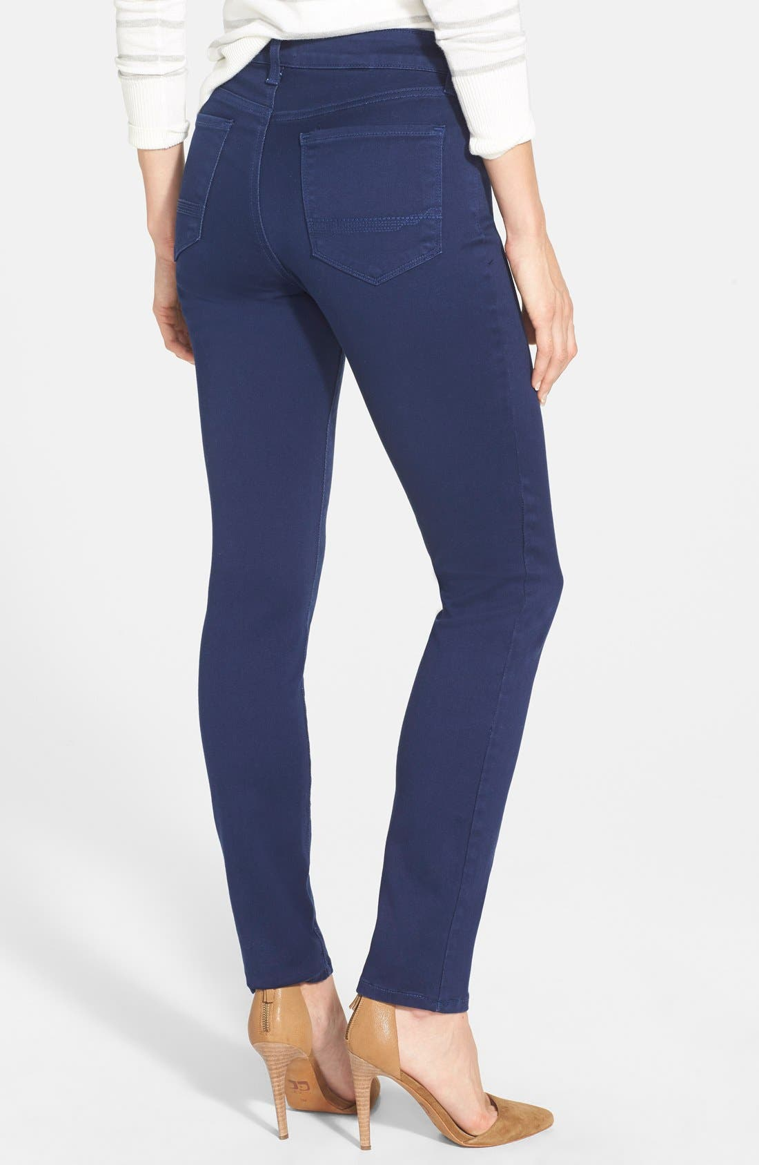 Alina Colored Stretch Skinny Jeans,                             Alternate thumbnail 88, color,