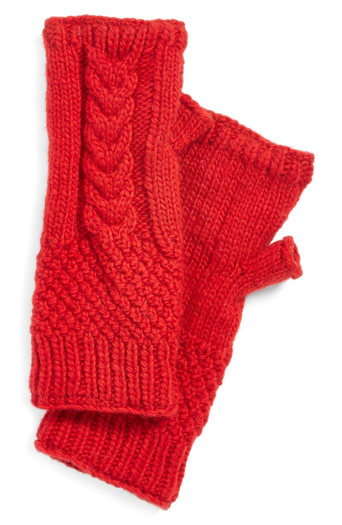 NirvannaDesigns Cable Knit Hand Warmers,                             Main thumbnail 8, color,