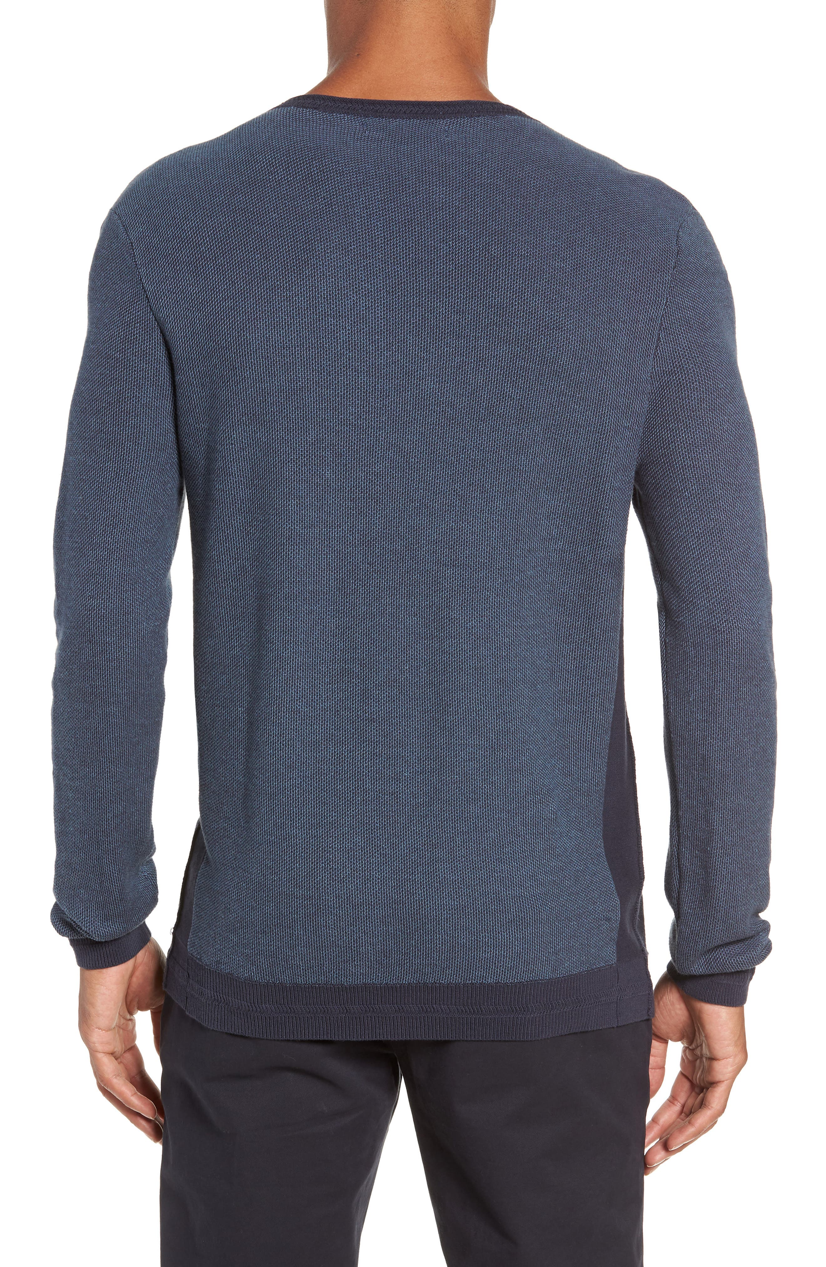 Space Dye Slim Fit Sweater,                             Alternate thumbnail 5, color,