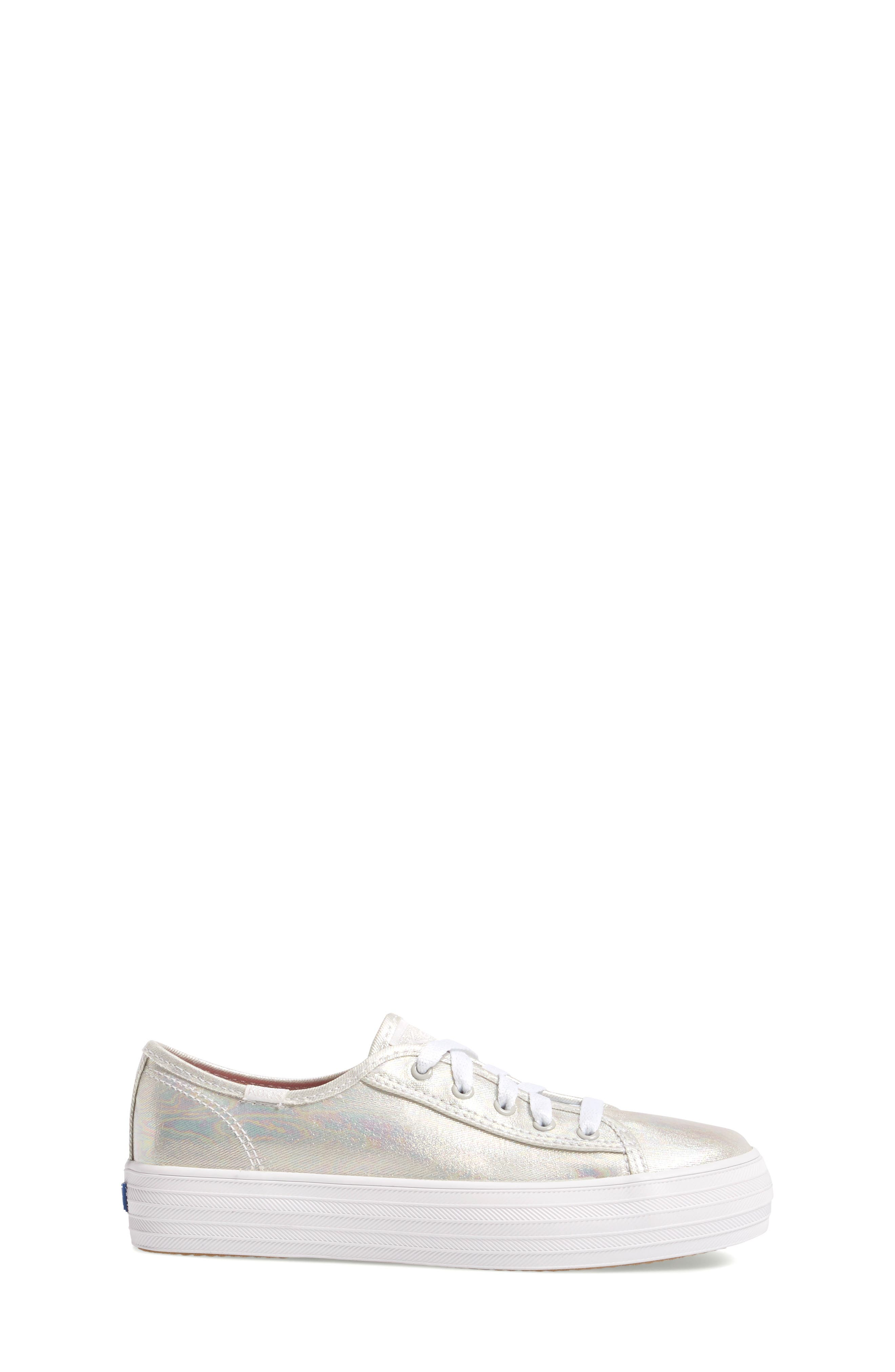Triple Kick Platform Sneaker,                             Alternate thumbnail 3, color,                             020