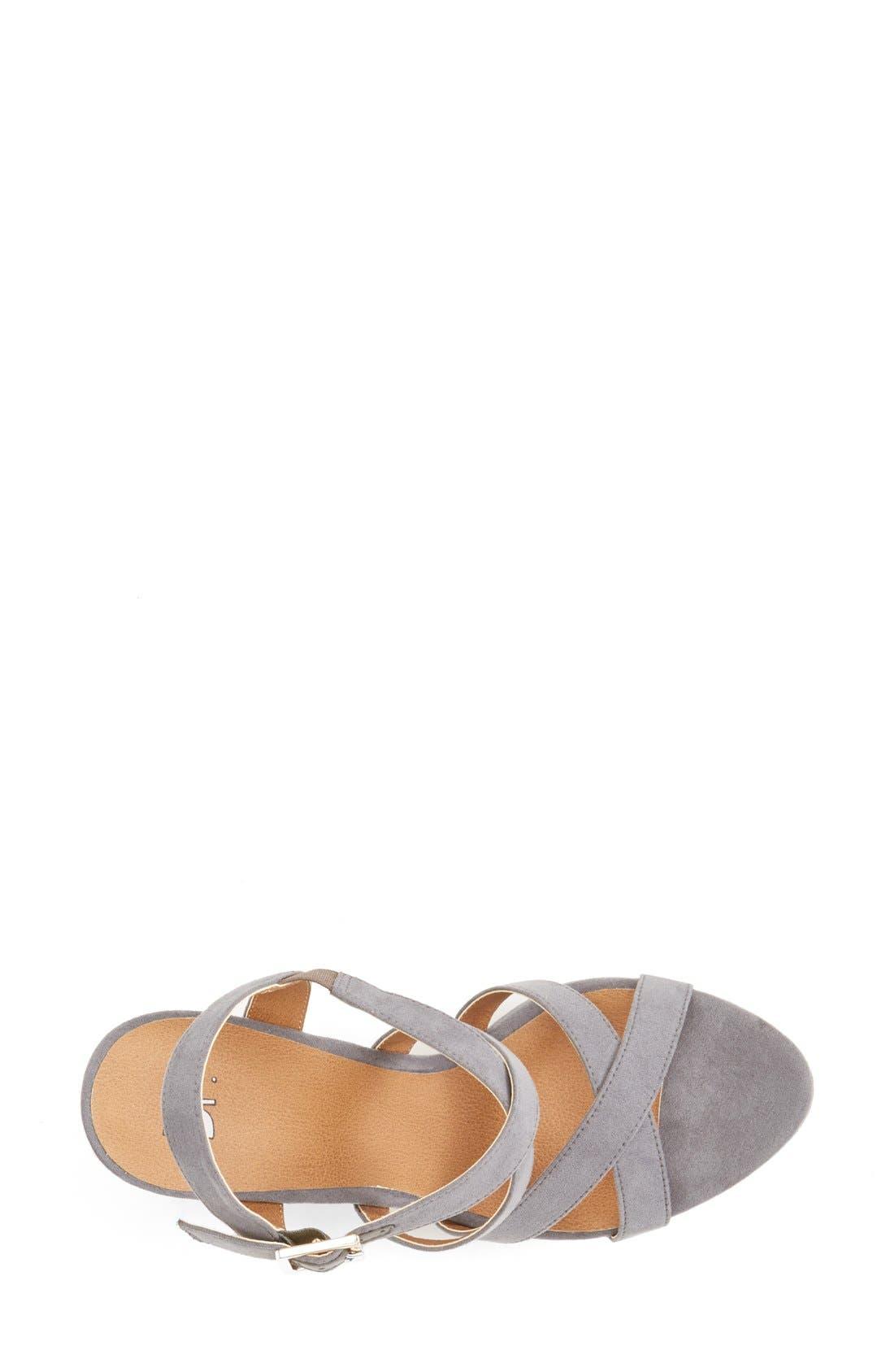 'Summers' Wedge Sandal,                             Alternate thumbnail 23, color,