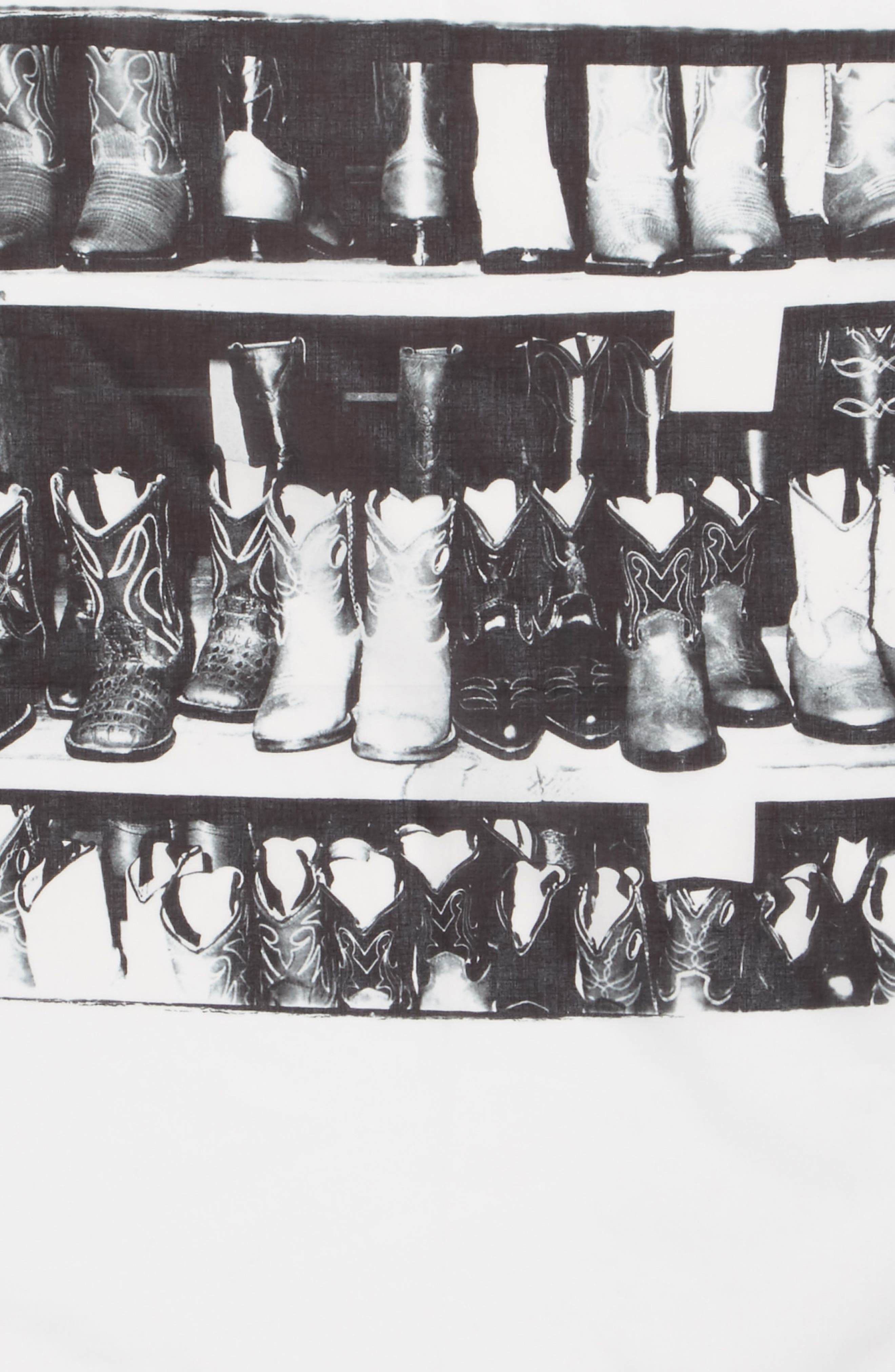 x Andy Warhol Foundation Boots Scarf,                             Alternate thumbnail 4, color,                             152