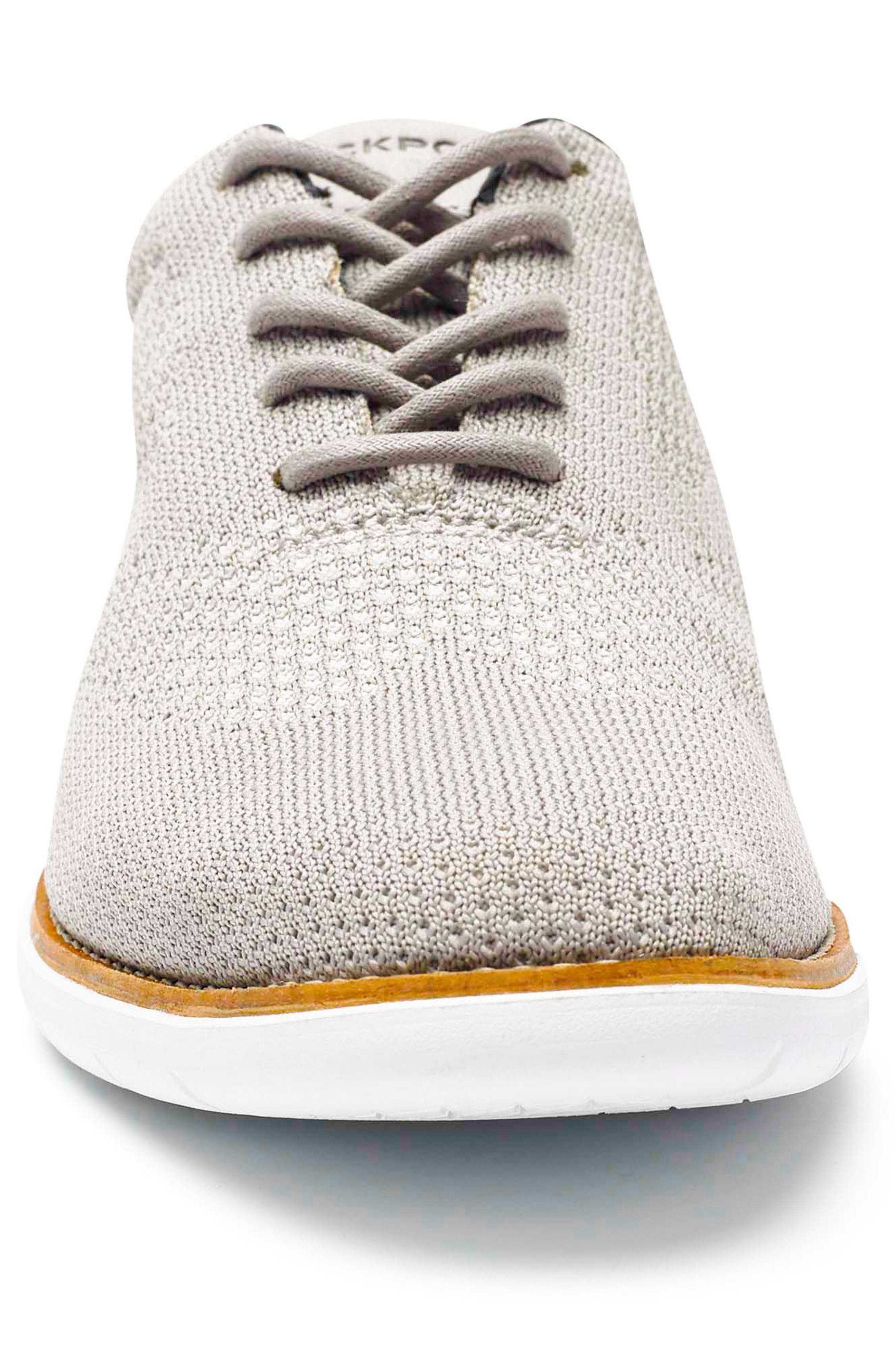 Total Motion Sport Oxford,                             Alternate thumbnail 4, color,                             ROCKSAND LEATHER