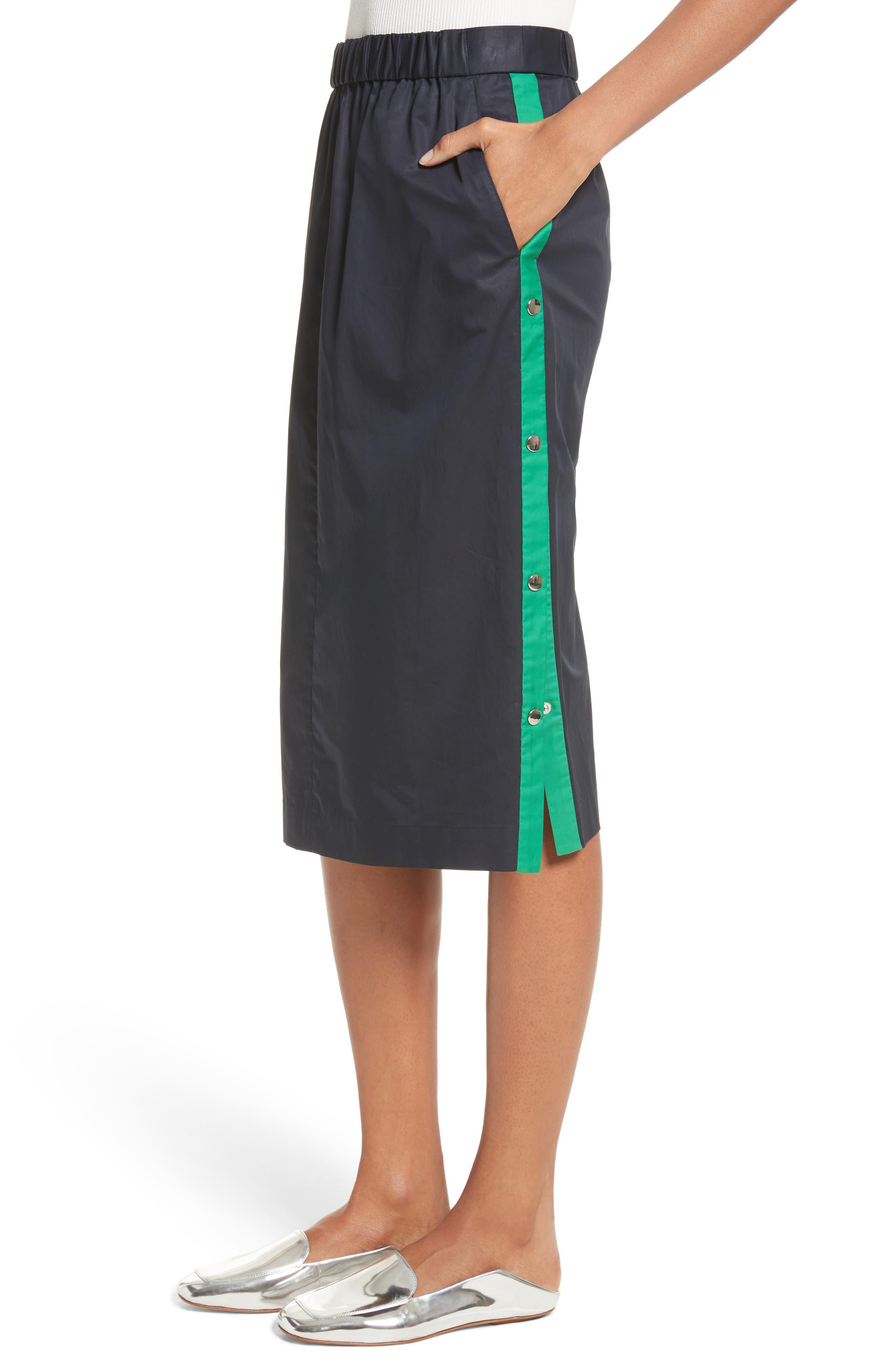 Side Snap Skirt,                             Alternate thumbnail 4, color,                             404