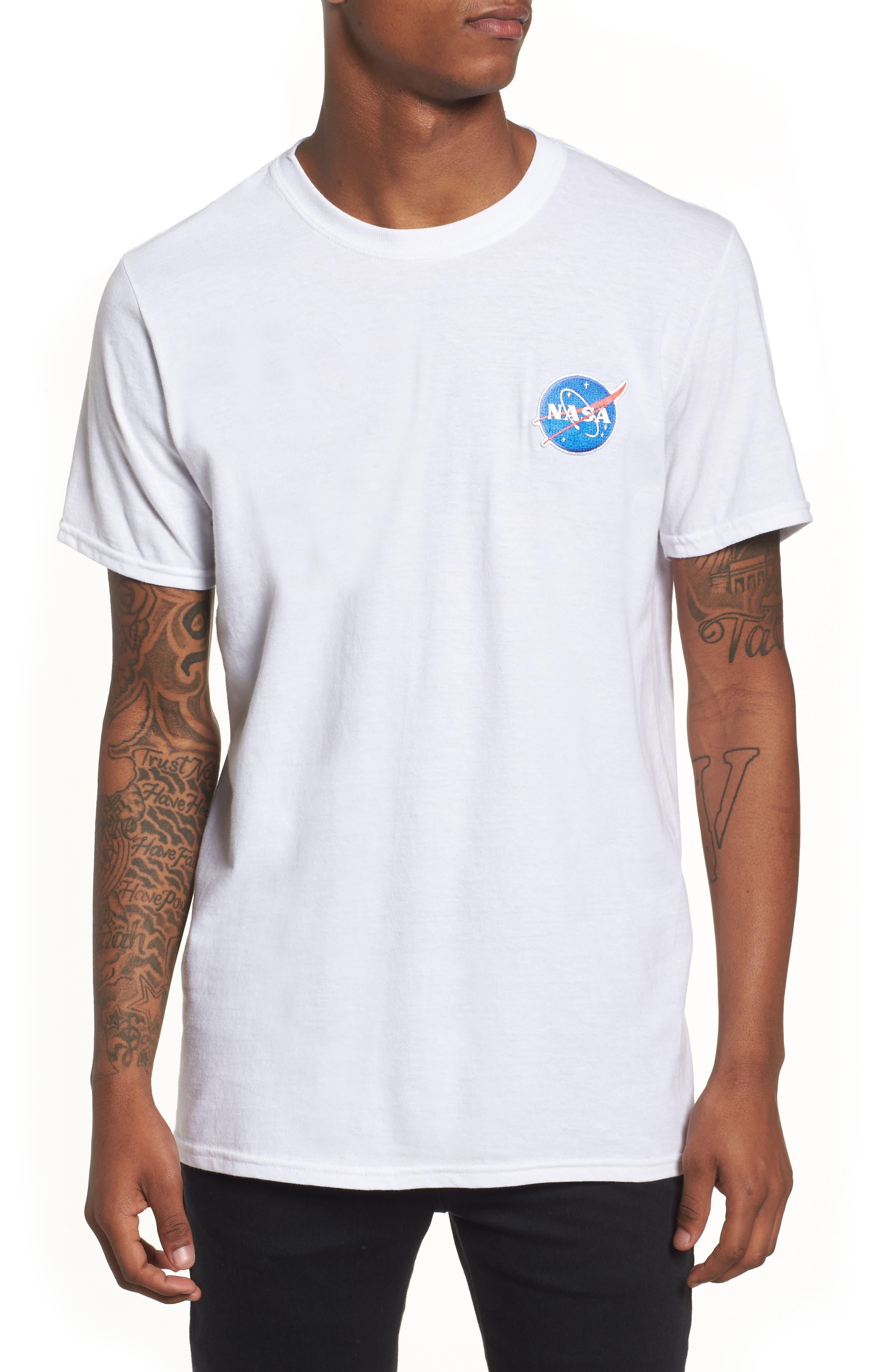 NASA Logo T-Shirt,                             Main thumbnail 1, color,                             100