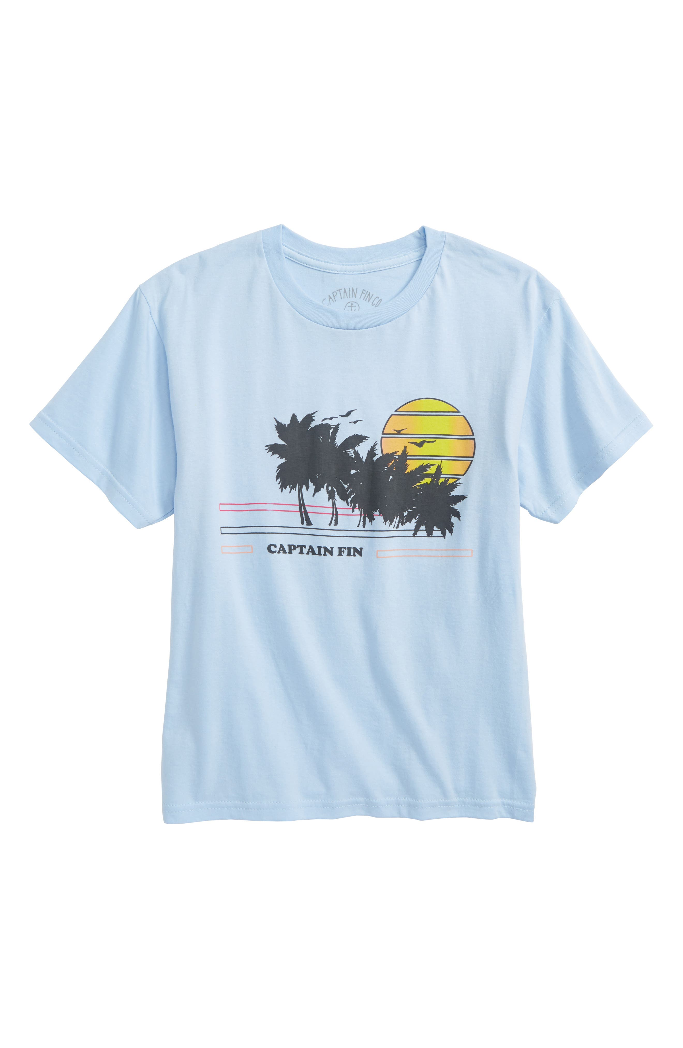 Seaside Graphic T-Shirt,                             Main thumbnail 1, color,                             450