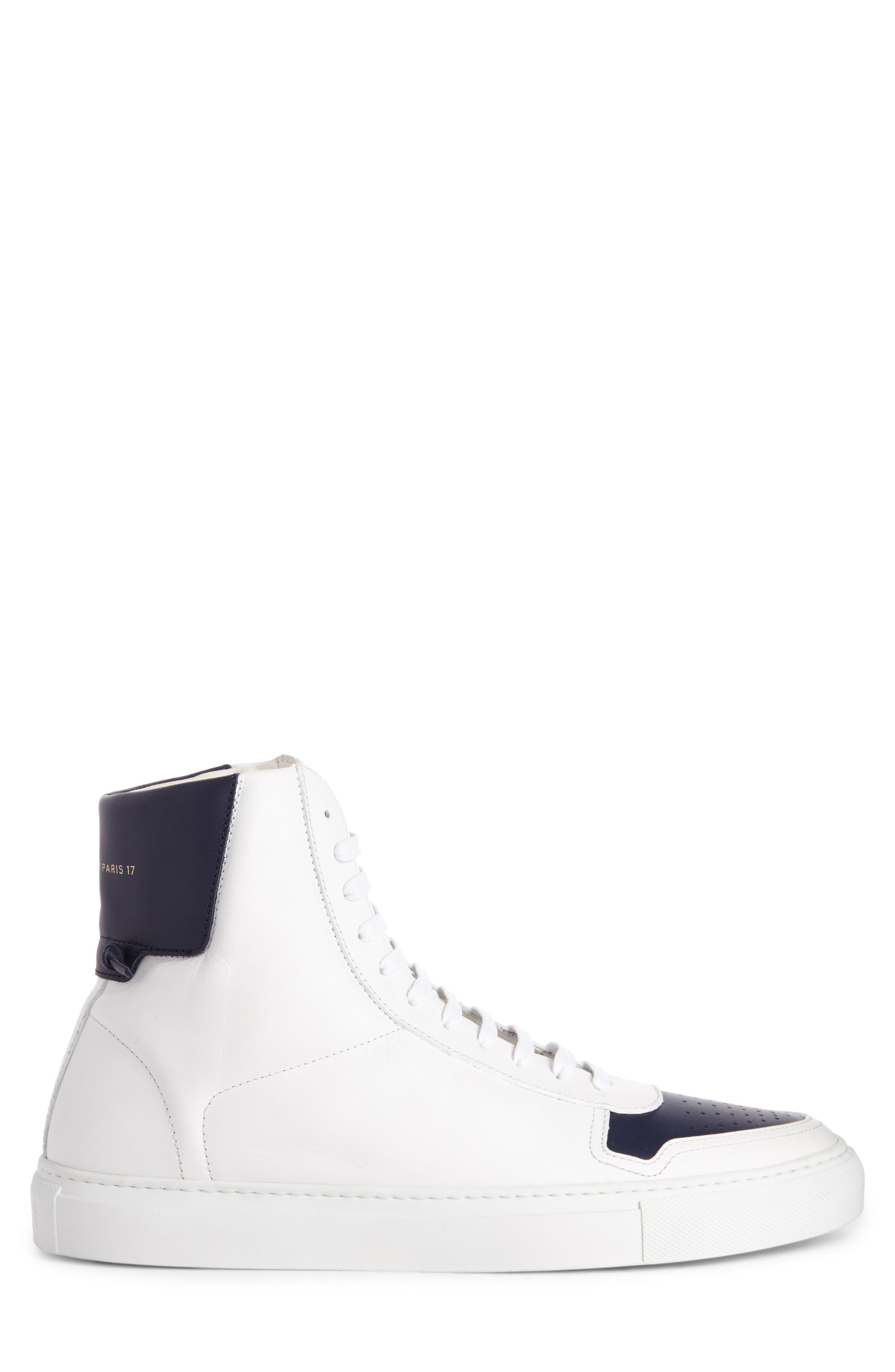 High Top Sneaker,                             Alternate thumbnail 3, color,                             131