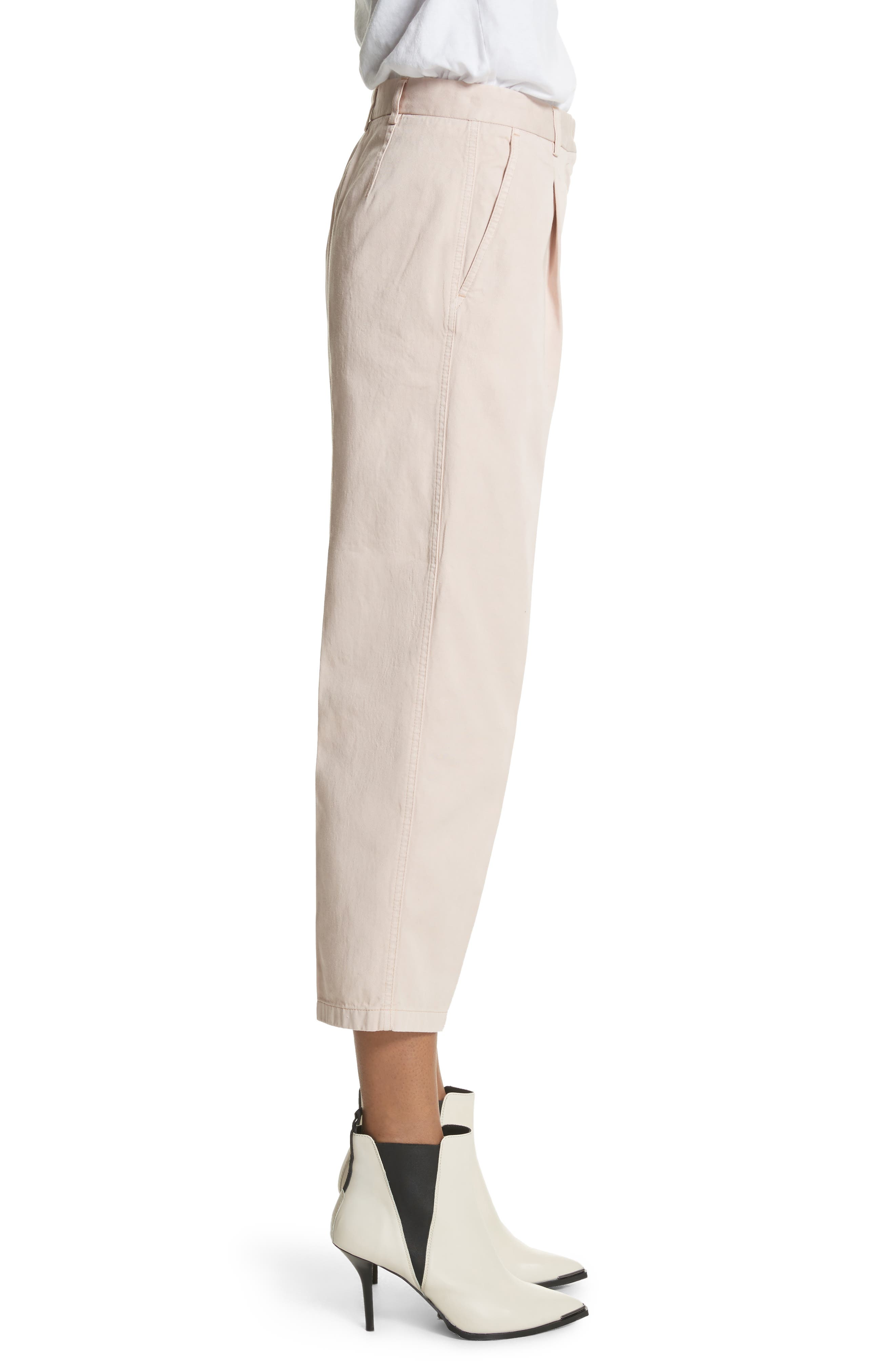 Tabea Crop Chinos,                             Alternate thumbnail 3, color,                             650