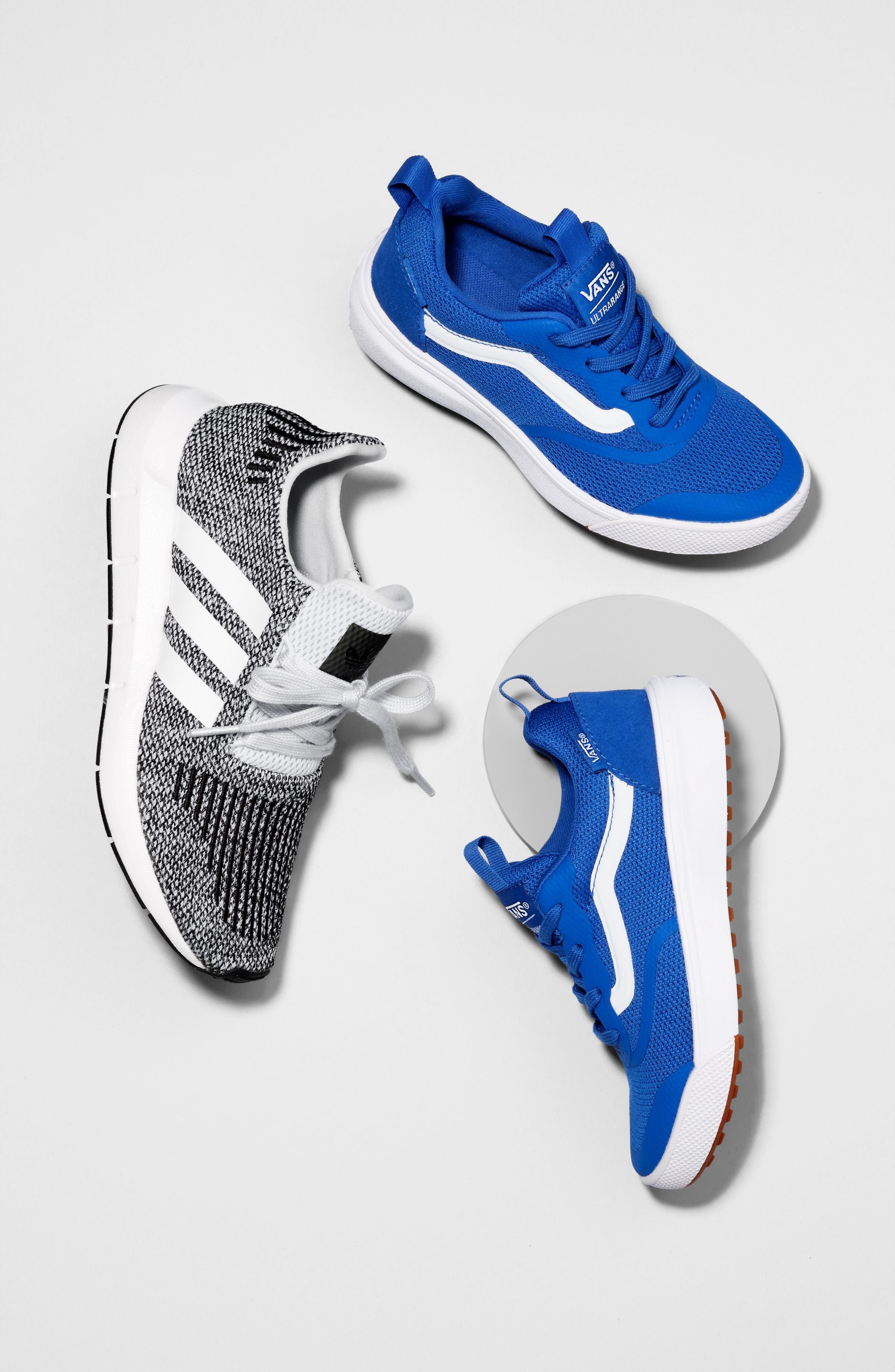 Swift Run J Sneaker,                             Alternate thumbnail 12, color,                             BLACK/ BLACK/ SOLAR RED