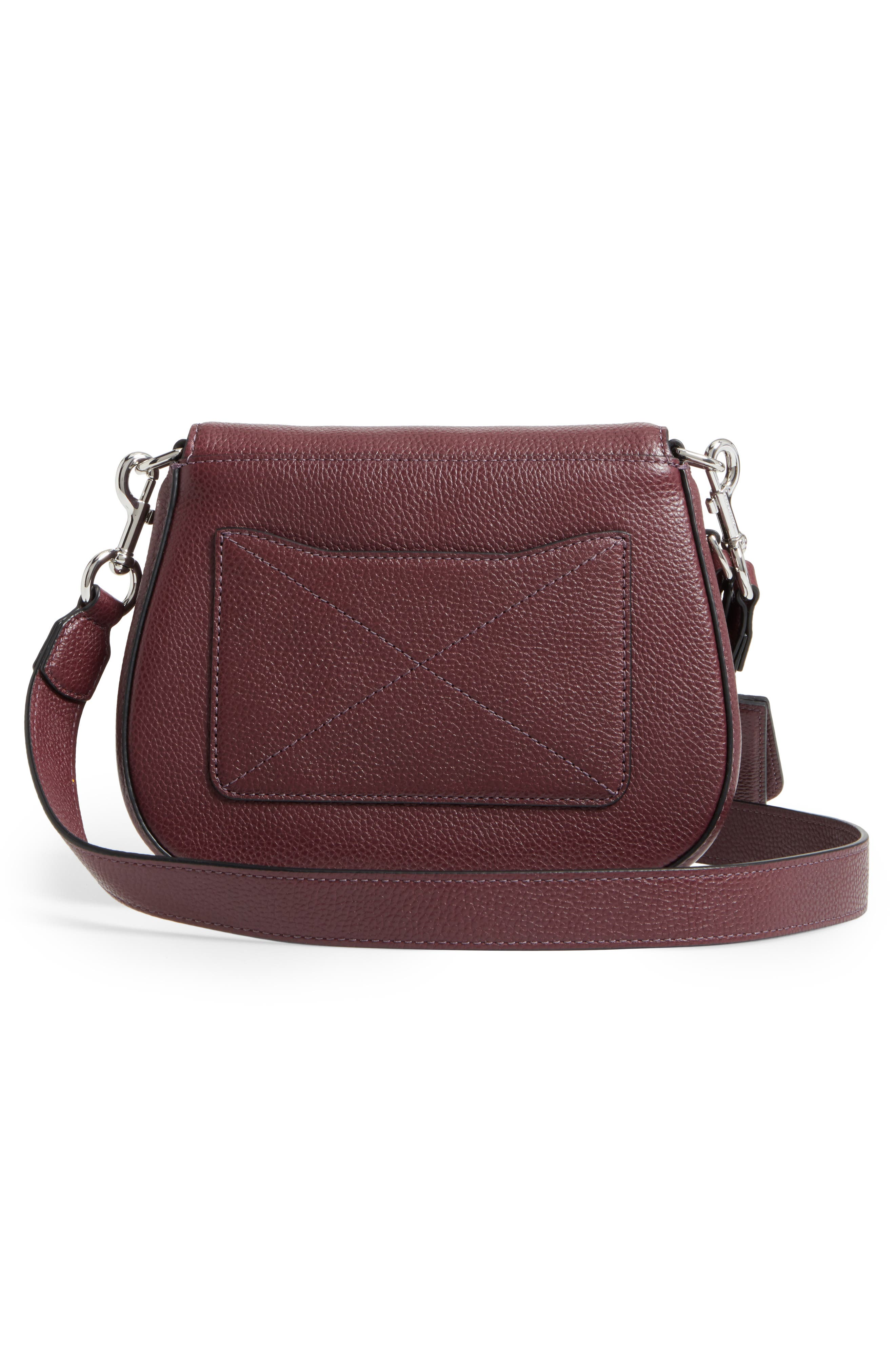 Small Recruit Nomad Pebbled Leather Crossbody Bag,                             Alternate thumbnail 30, color,