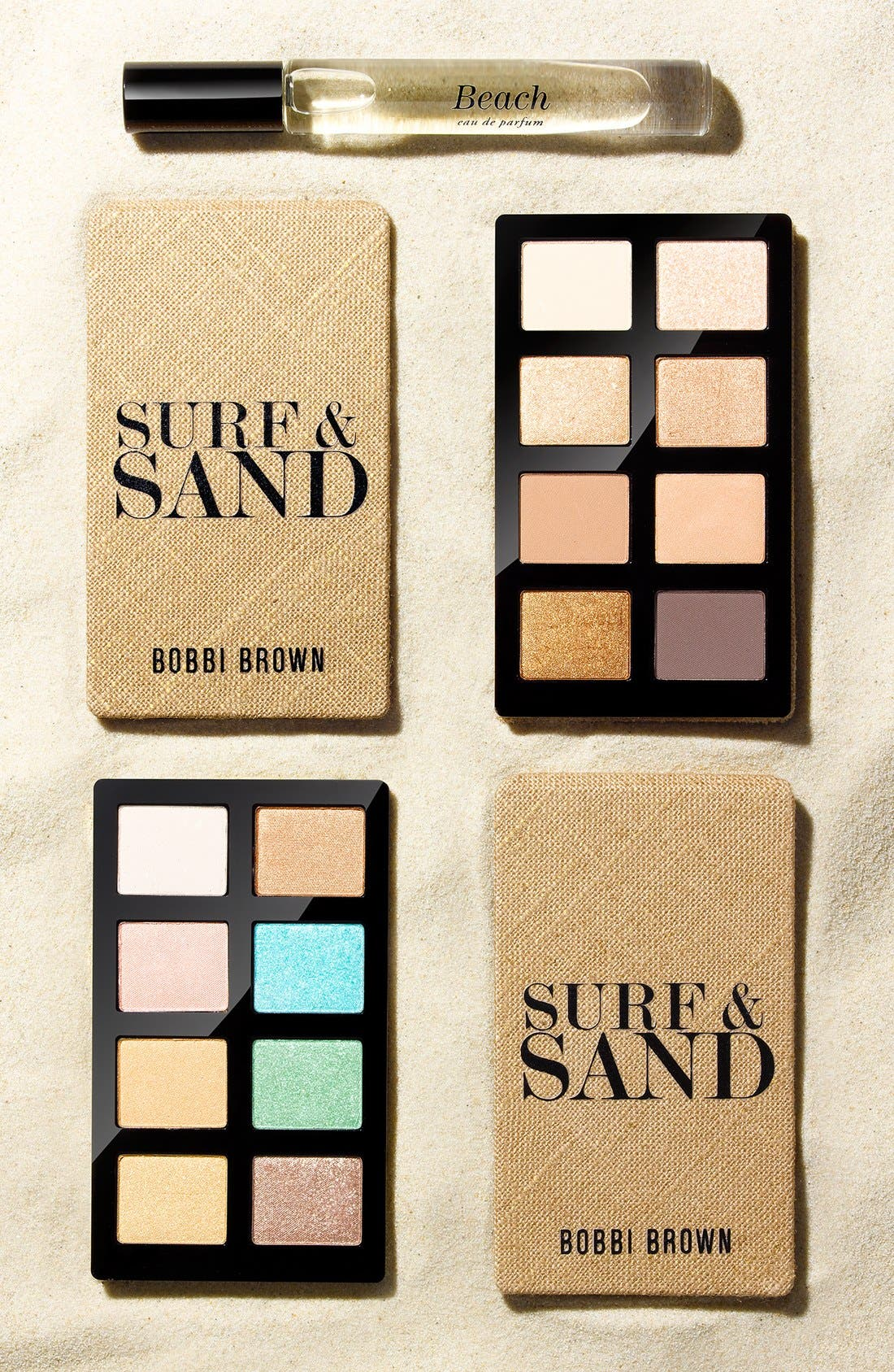 'Surf & Sand - Surf' Eyeshadow Palette,                             Alternate thumbnail 3, color,                             250