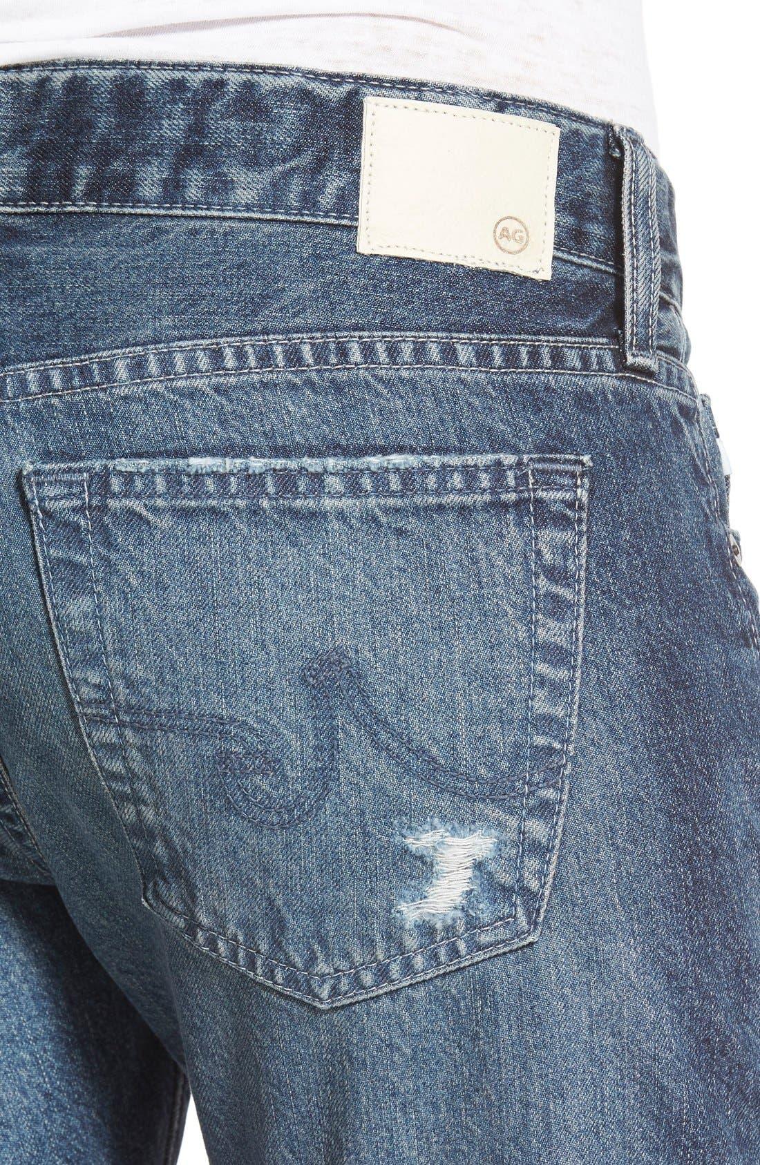 AG,                             'The Nikki' Relaxed Skinny Jeans,                             Alternate thumbnail 4, color,                             401
