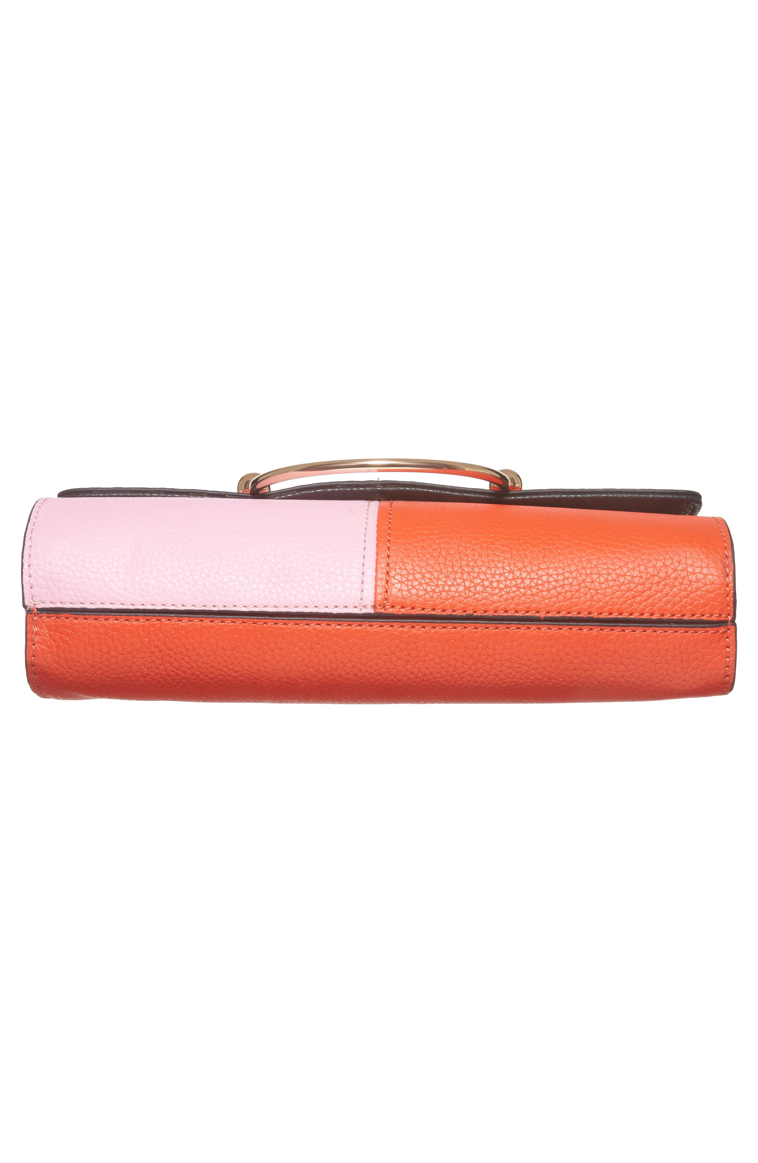 Astor Pebbled Leather Flap Clutch,                             Alternate thumbnail 24, color,