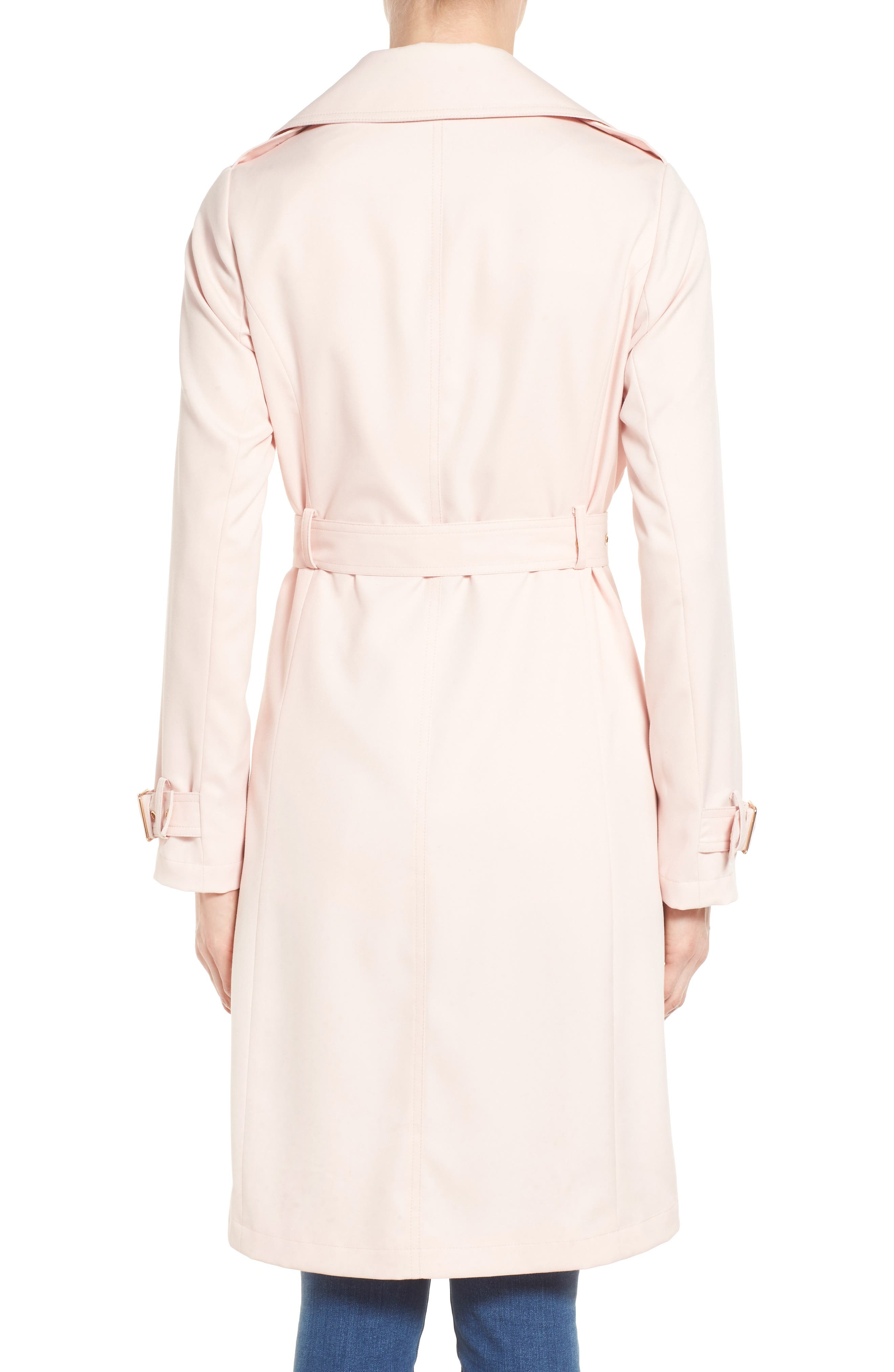Flowy Belted Trench Coat,                             Alternate thumbnail 9, color,