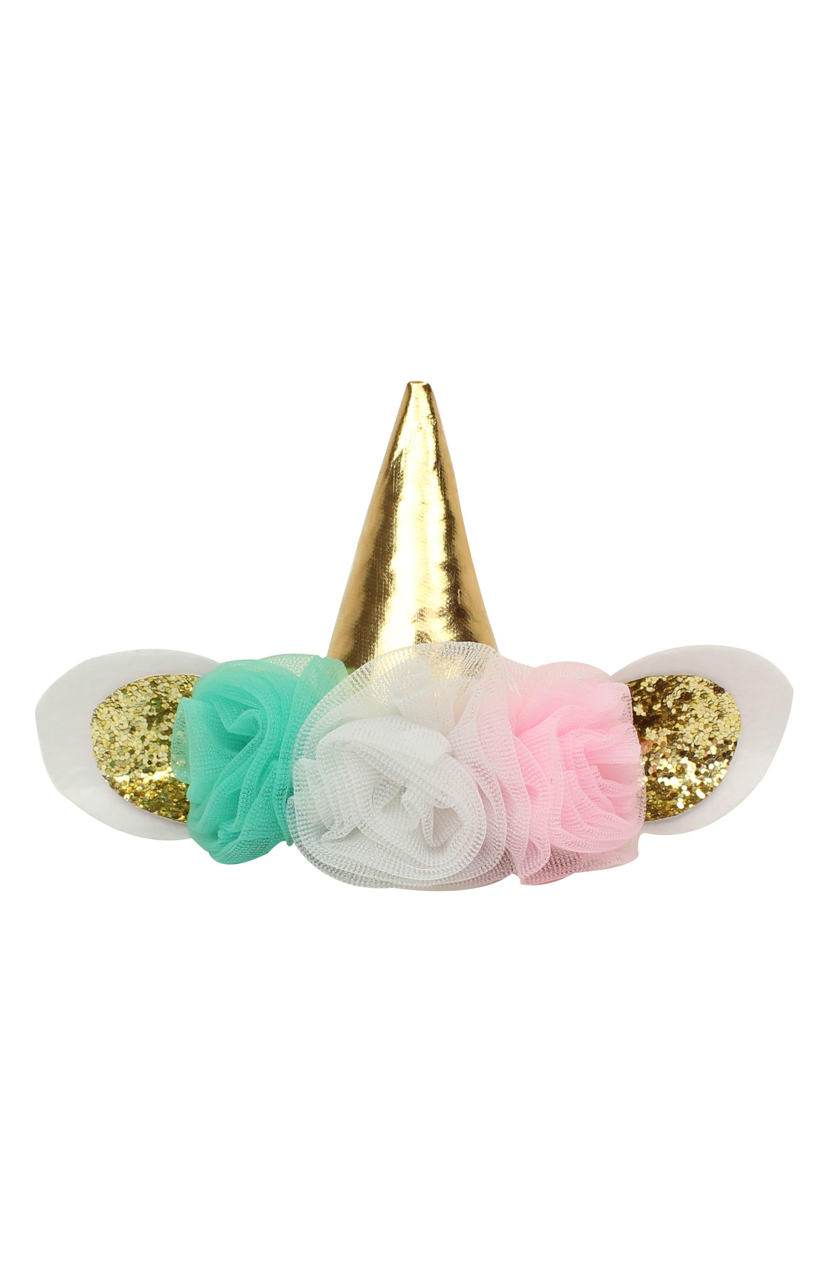 Unicorn Tutu & Headband Set,                             Alternate thumbnail 2, color,                             MINT