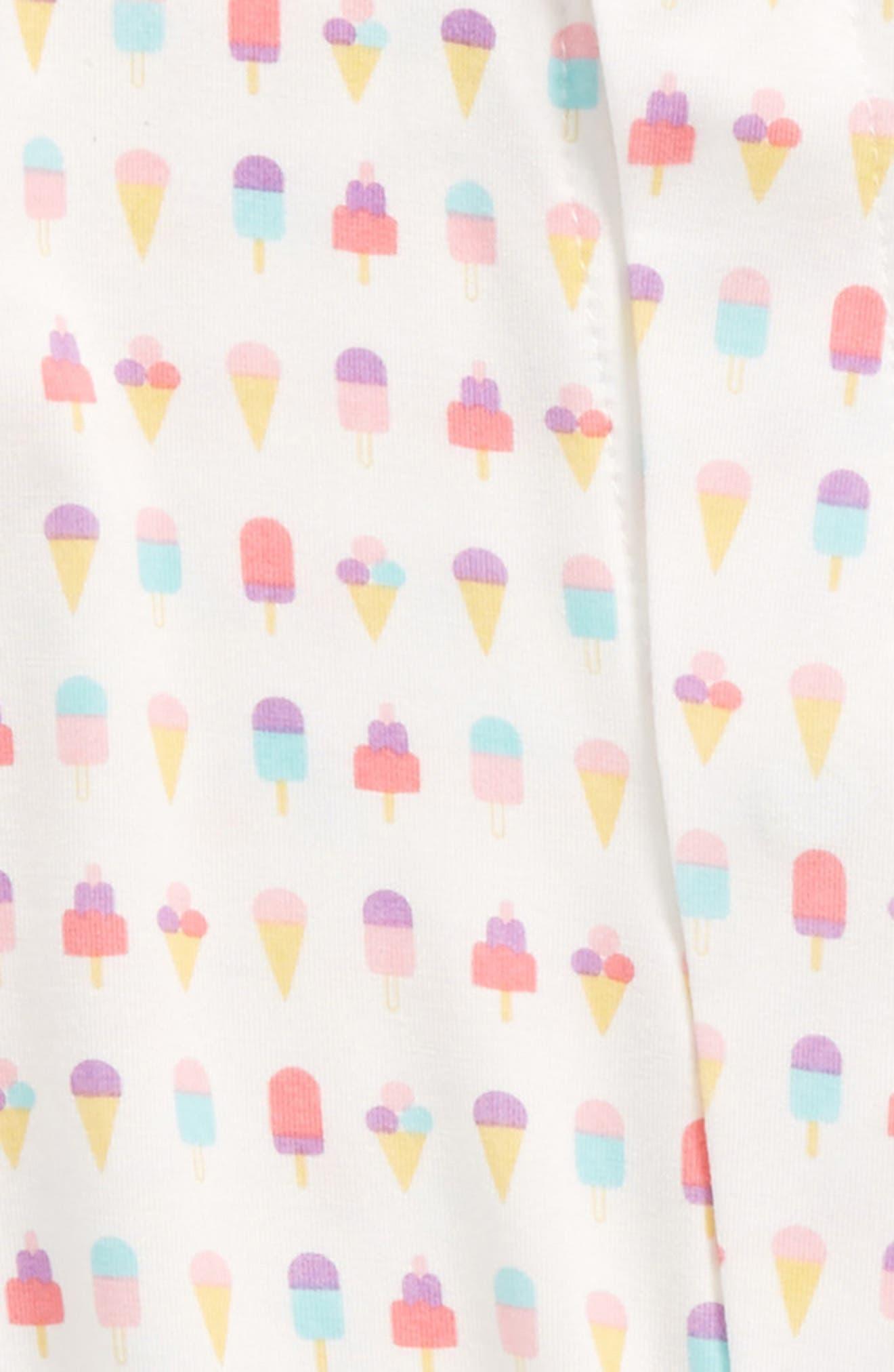 Ice Cream Print Footie,                             Alternate thumbnail 2, color,                             650