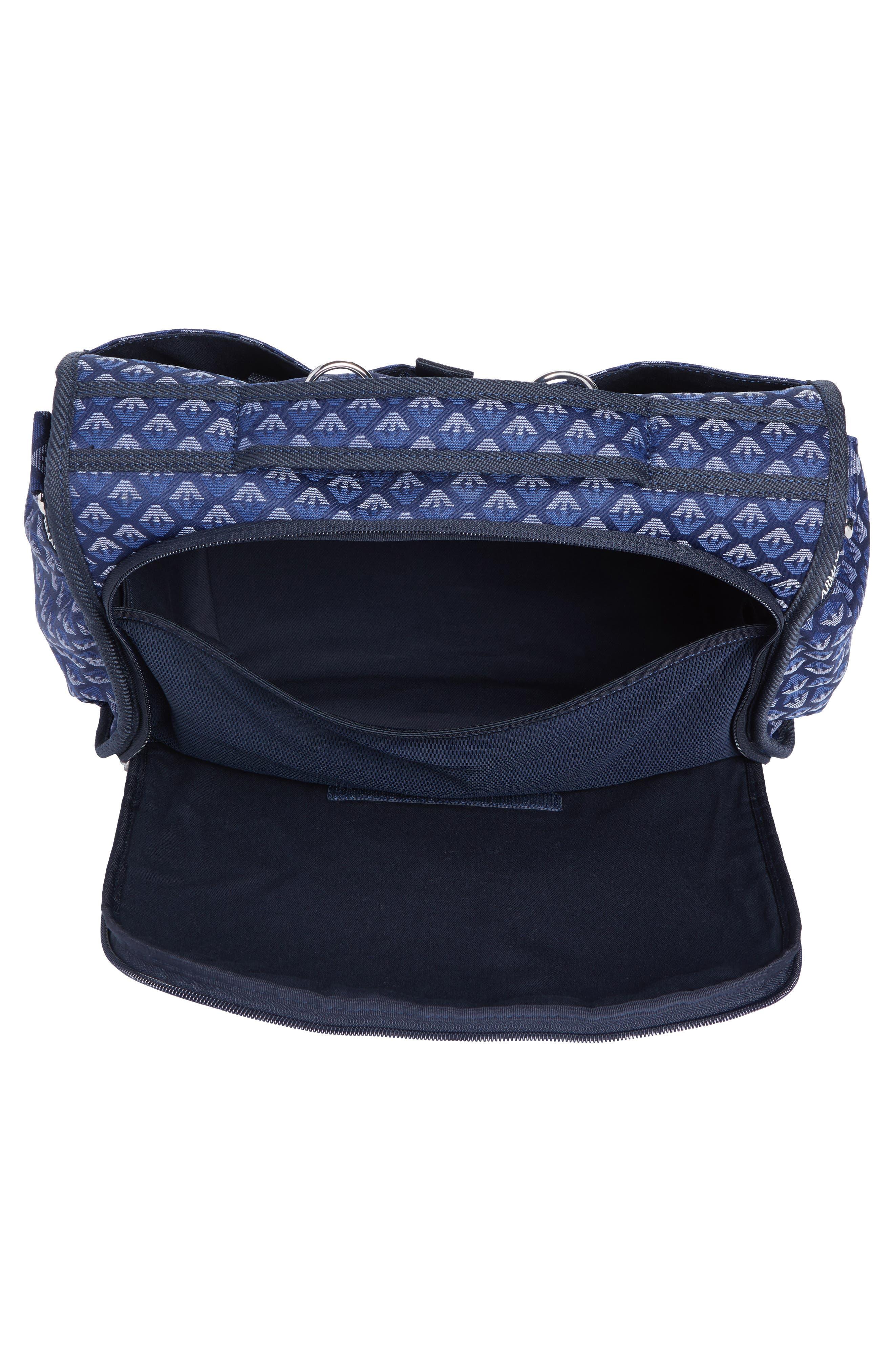 Diaper Bag,                             Alternate thumbnail 3, color,                             NAVY BLUE