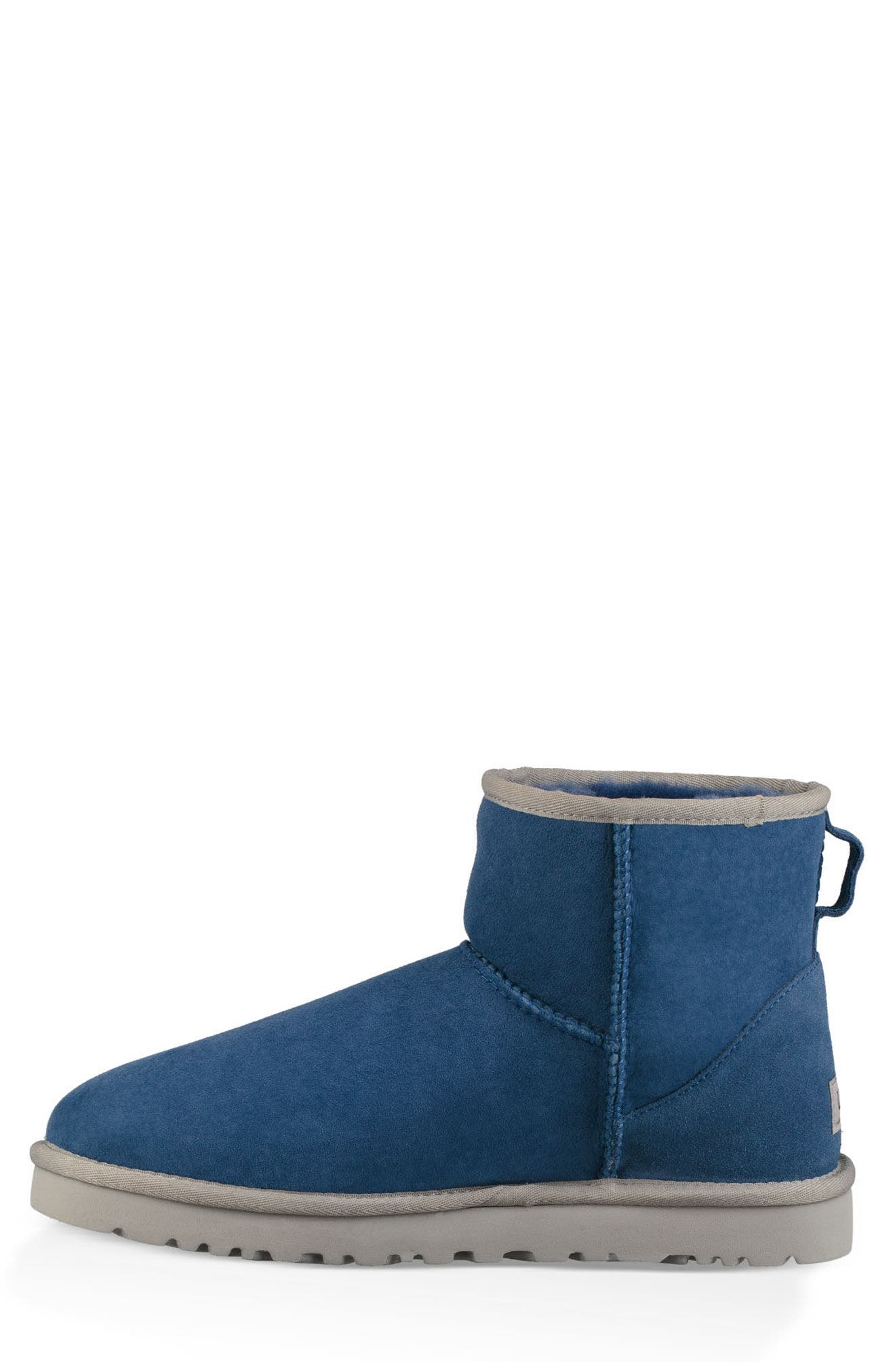 Classic Mini Boot,                             Alternate thumbnail 3, color,                             BLUE