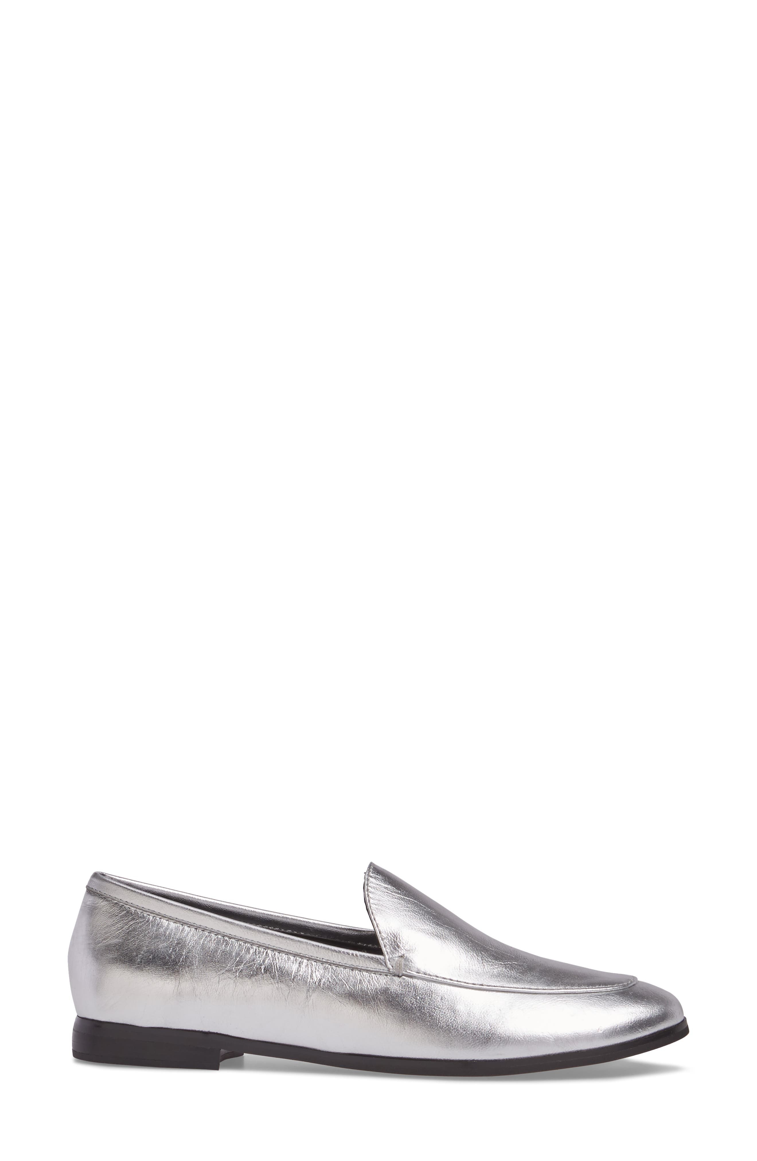 Dylan Metallic Loafer,                             Alternate thumbnail 3, color,                             040
