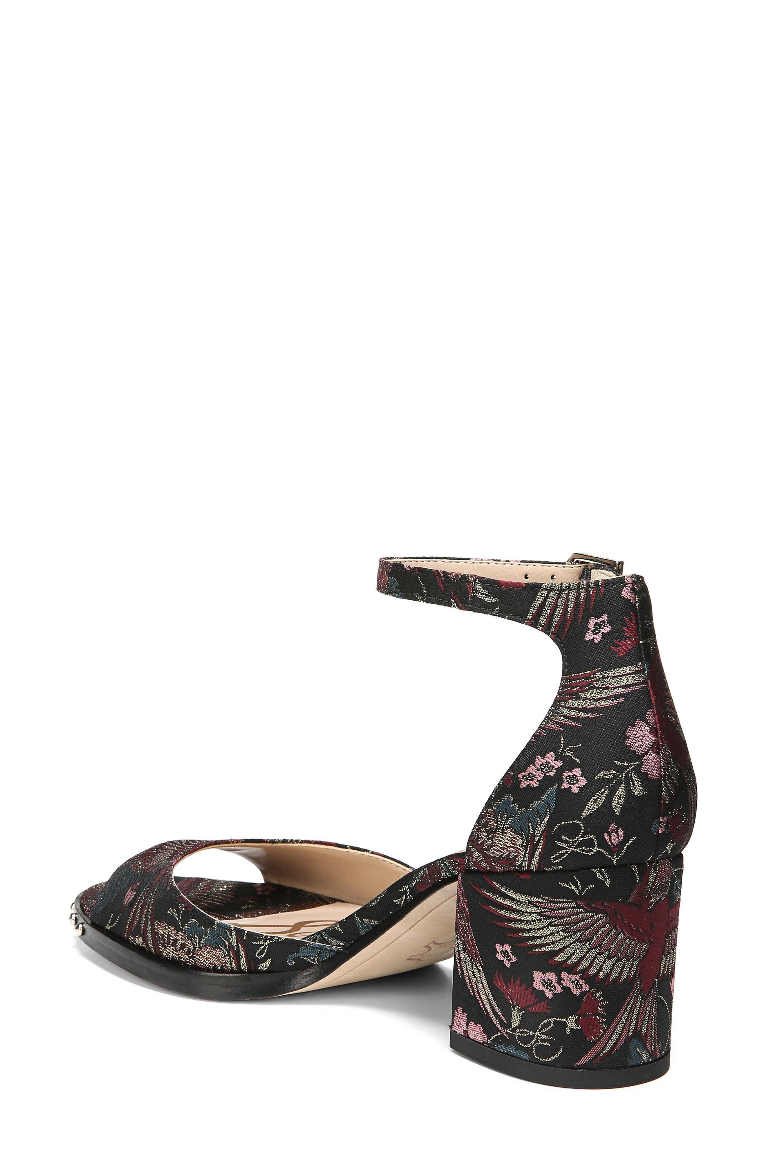 Susie Ankle Strap Sandal,                             Alternate thumbnail 2, color,                             002