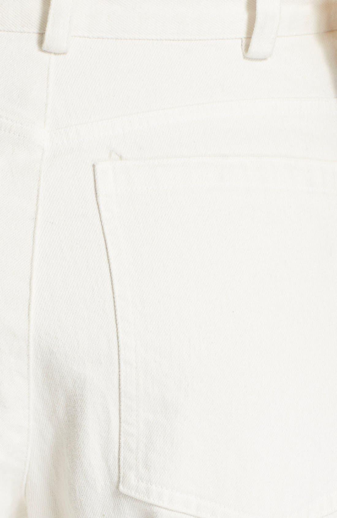 Legion Wide Leg Denim Pants,                             Alternate thumbnail 5, color,
