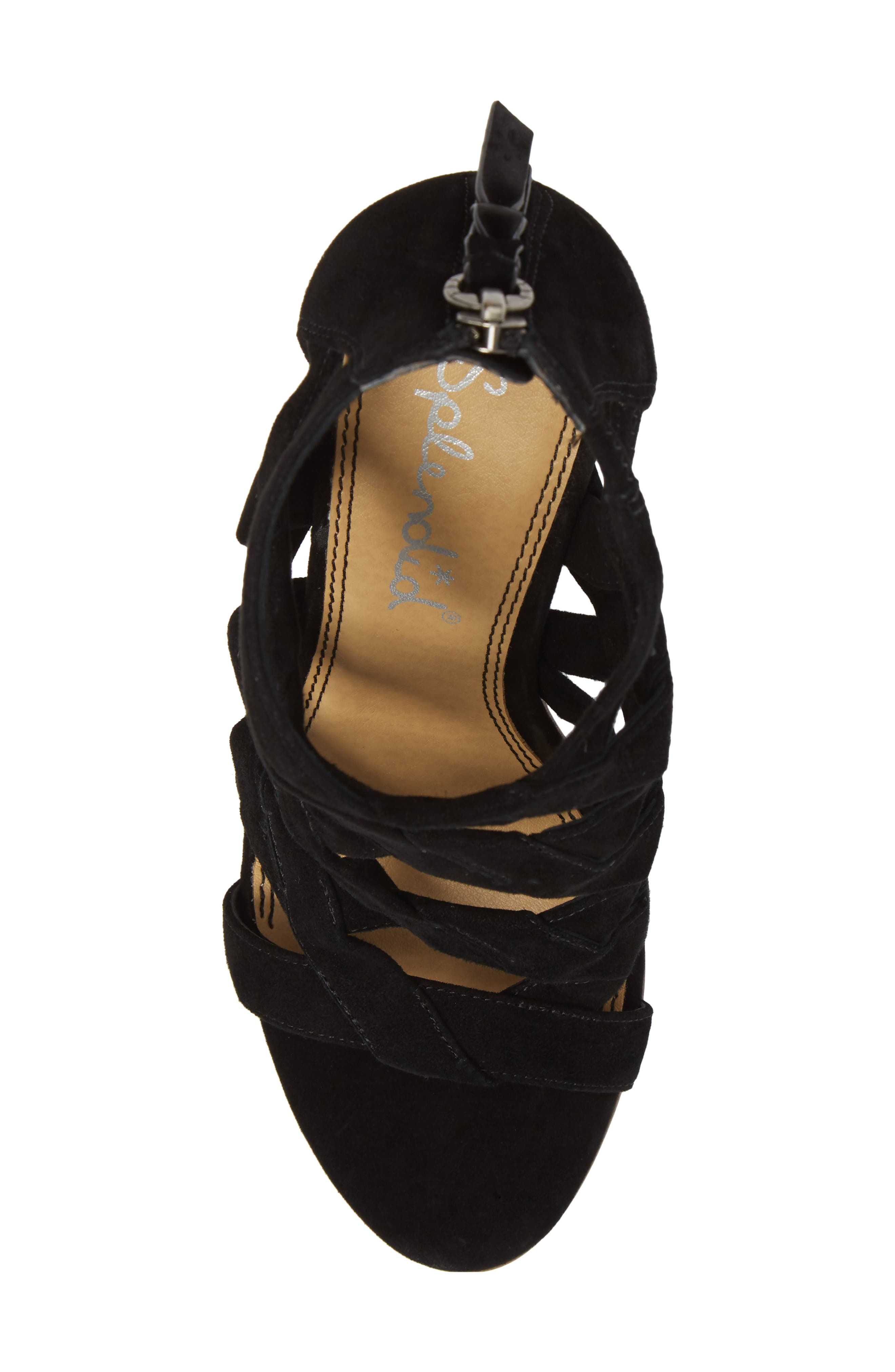 Bartlett Angled Cage Sandal,                             Alternate thumbnail 5, color,                             013