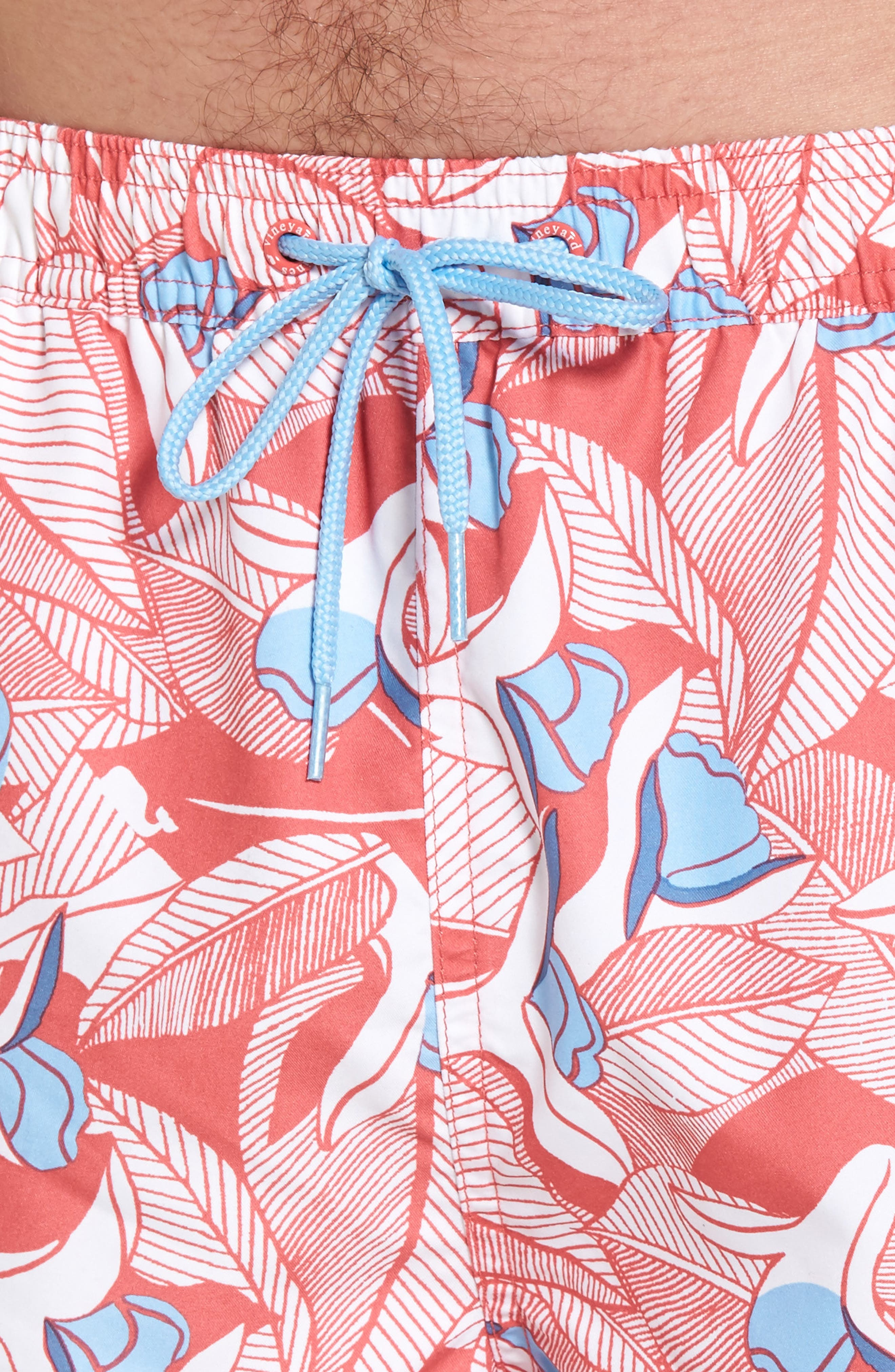 Chappy Floral Swim Trunks,                             Alternate thumbnail 4, color,                             628