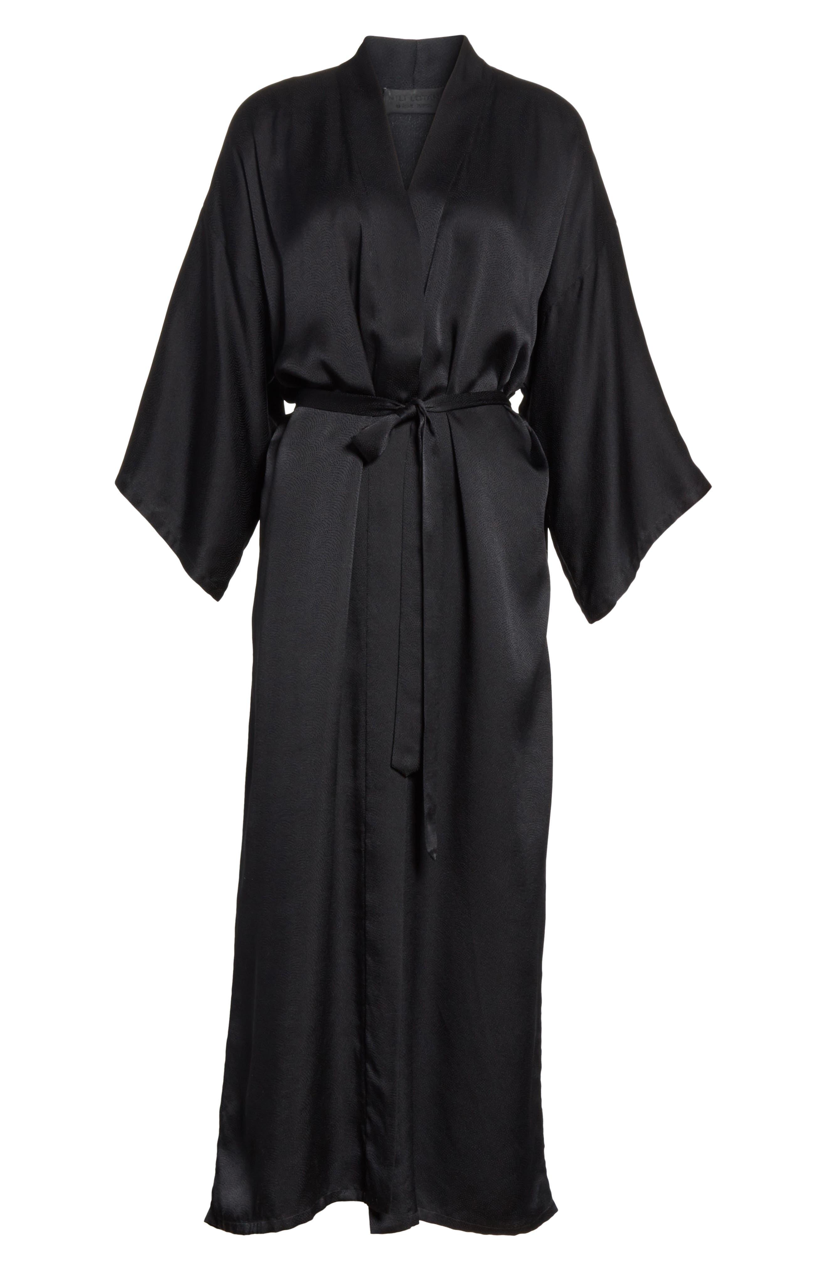 Maia Silk Kimono,                             Alternate thumbnail 5, color,                             003