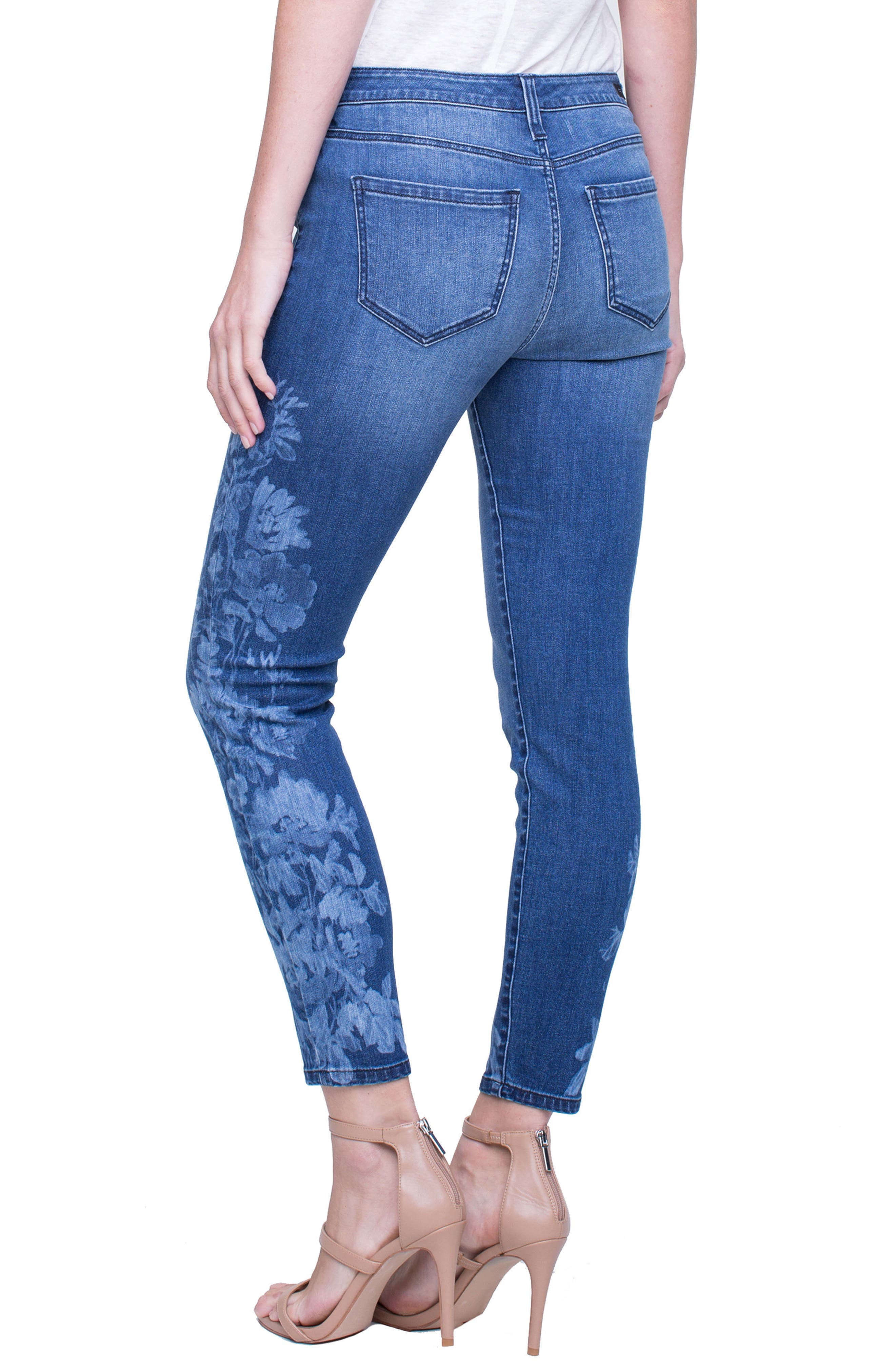 Penny Ankle Skinny Jeans,                             Alternate thumbnail 8, color,