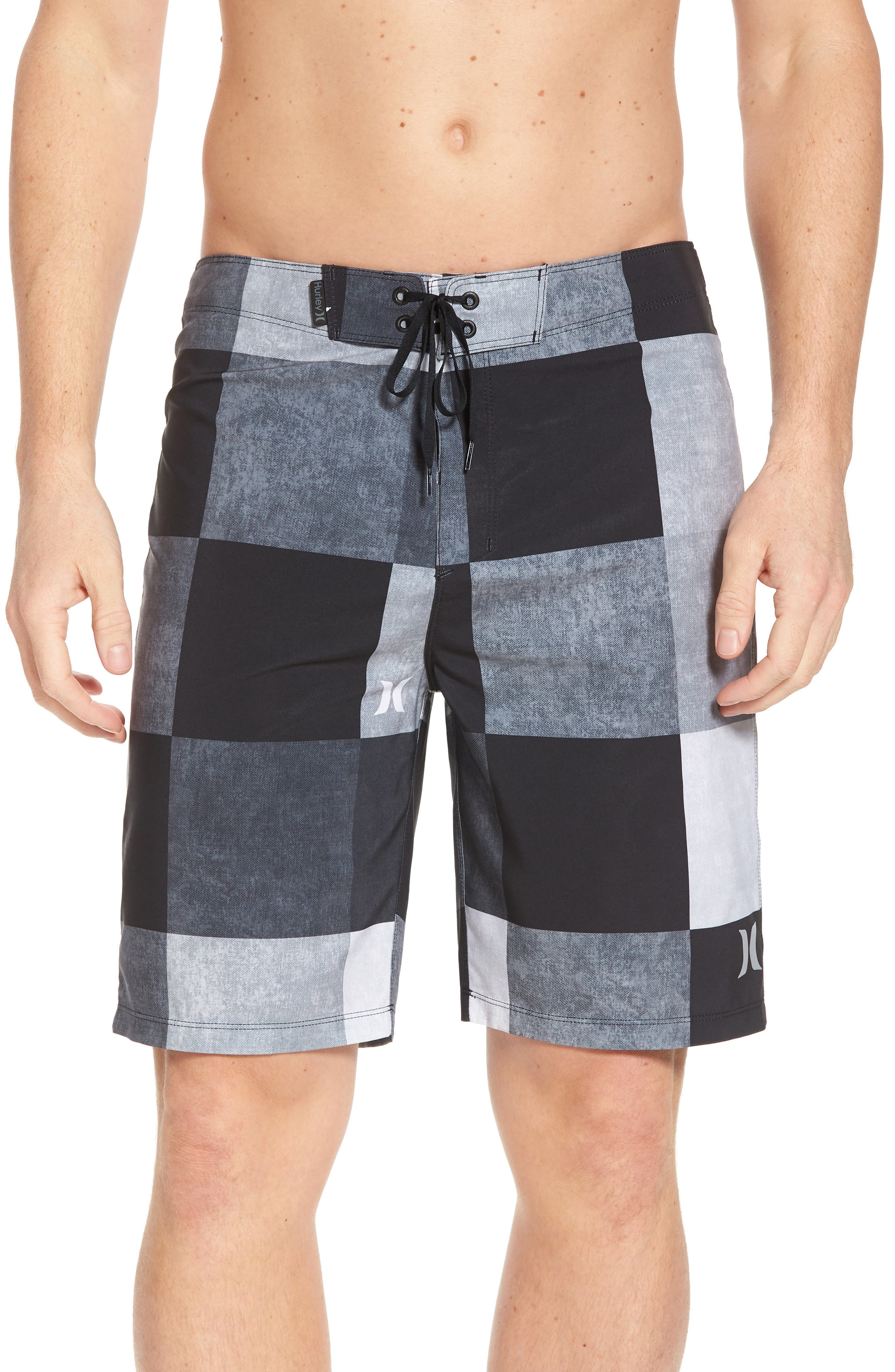 Phantom Kingsroad Board Shorts,                         Main,                         color, BLACK