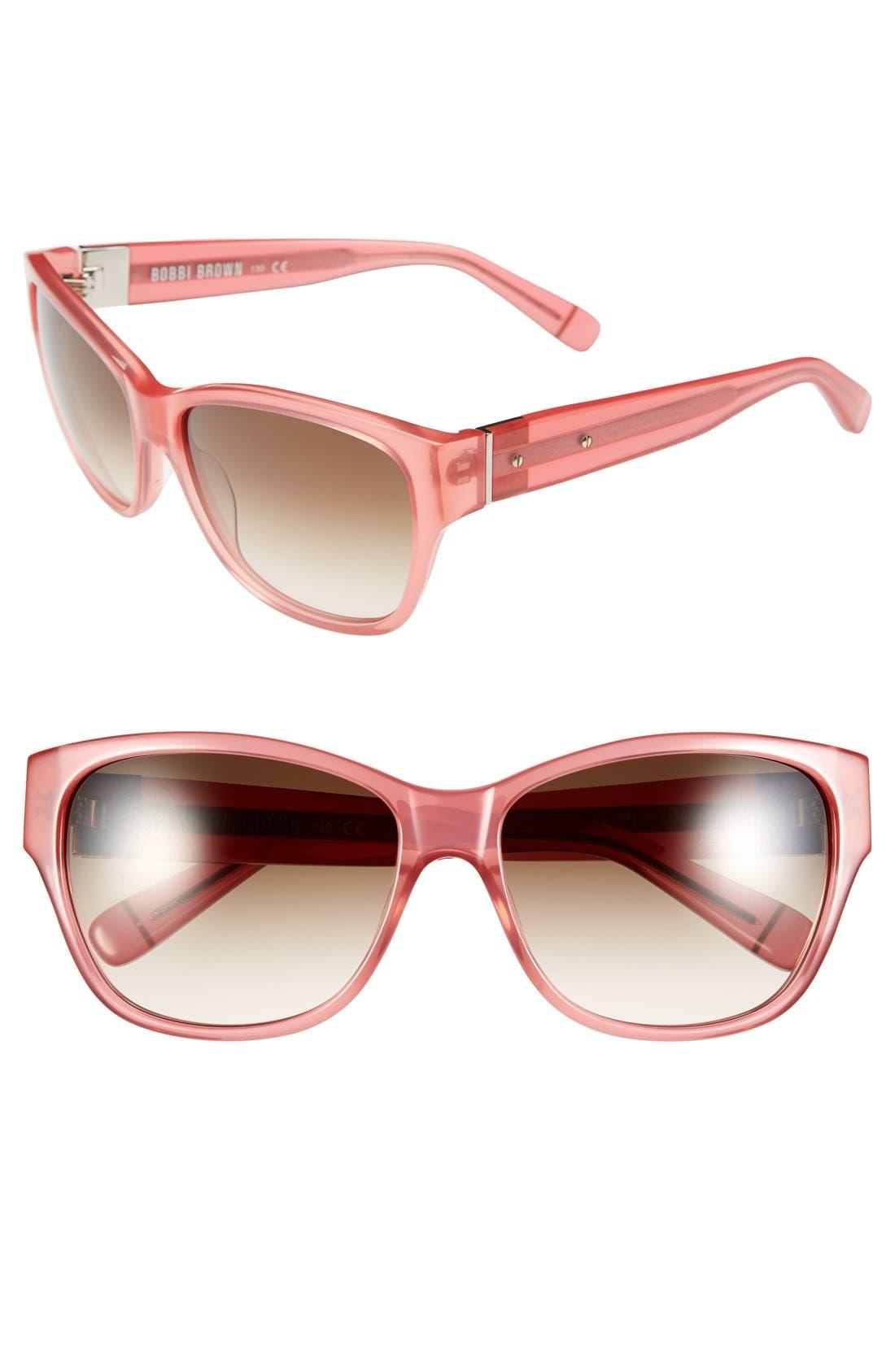 'The Veronika' 57mm Sunglasses,                             Main thumbnail 3, color,