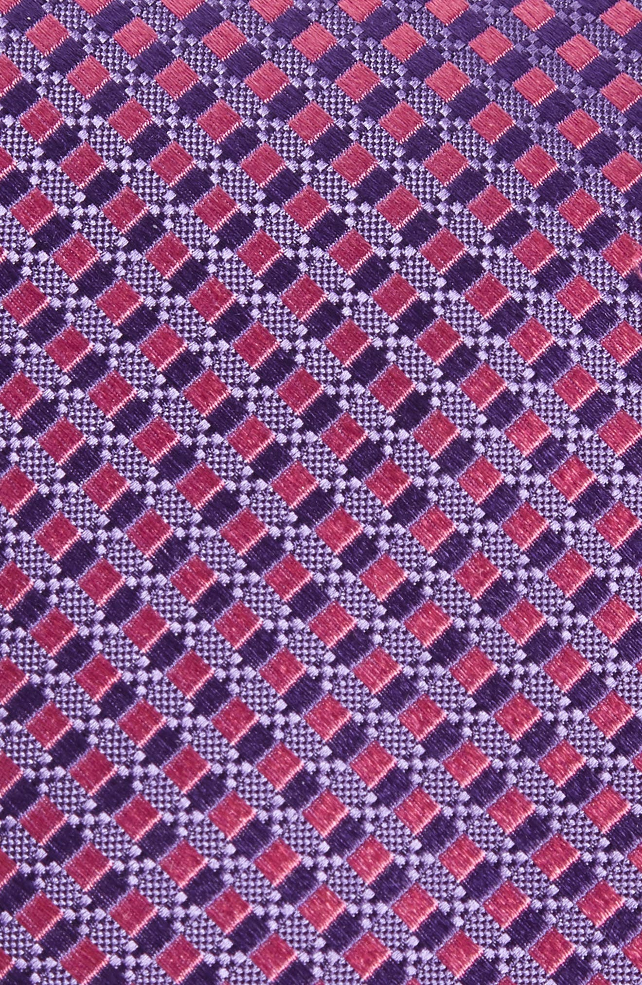 Nathan Check Silk Tie,                             Alternate thumbnail 5, color,